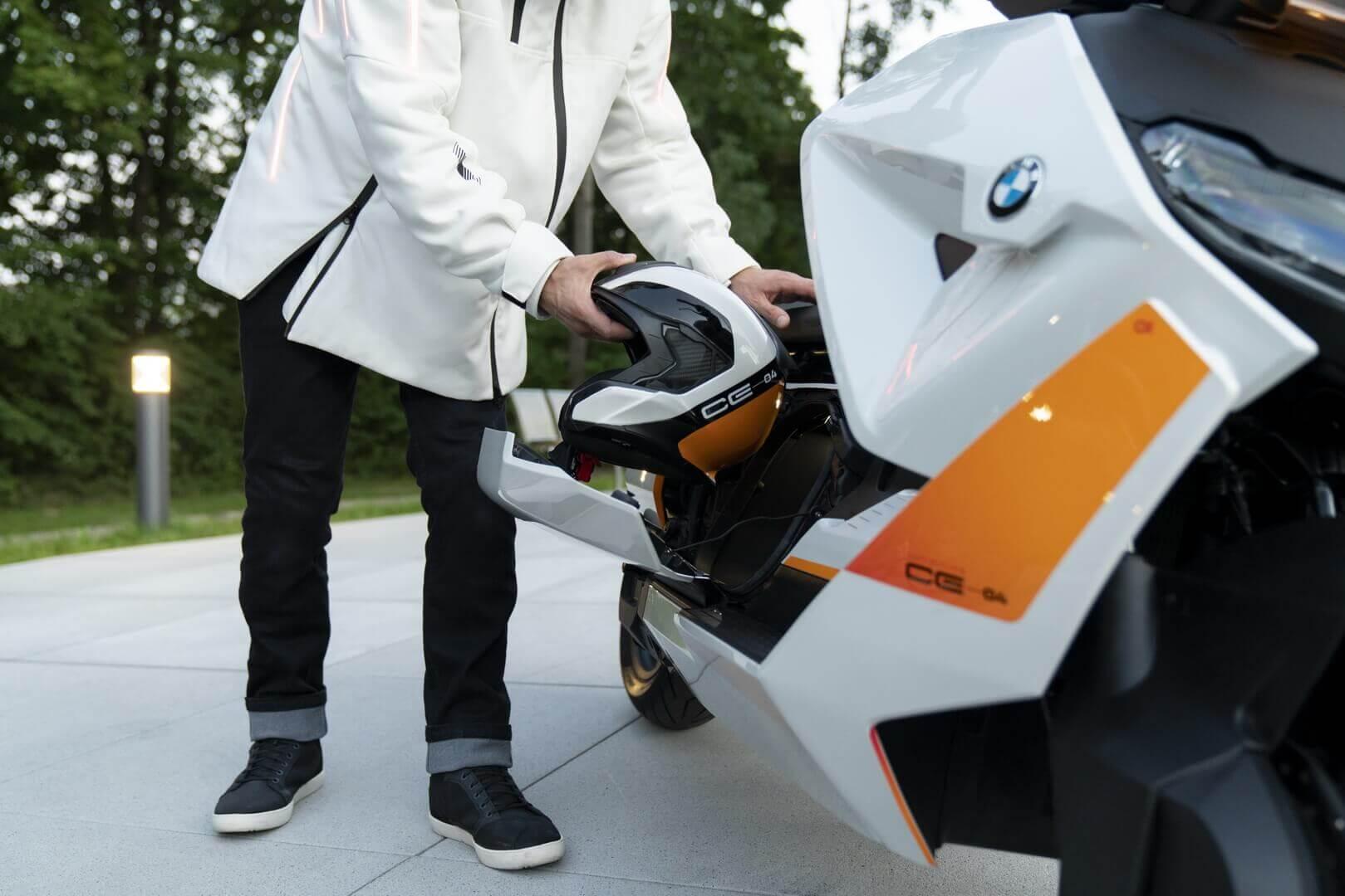 Городской электроскутер BMW Motorrad Definition CE 04