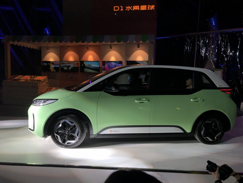 Китайские компании DiDi и BYD представили специально разработанный электромобиль для такси и каршеринга