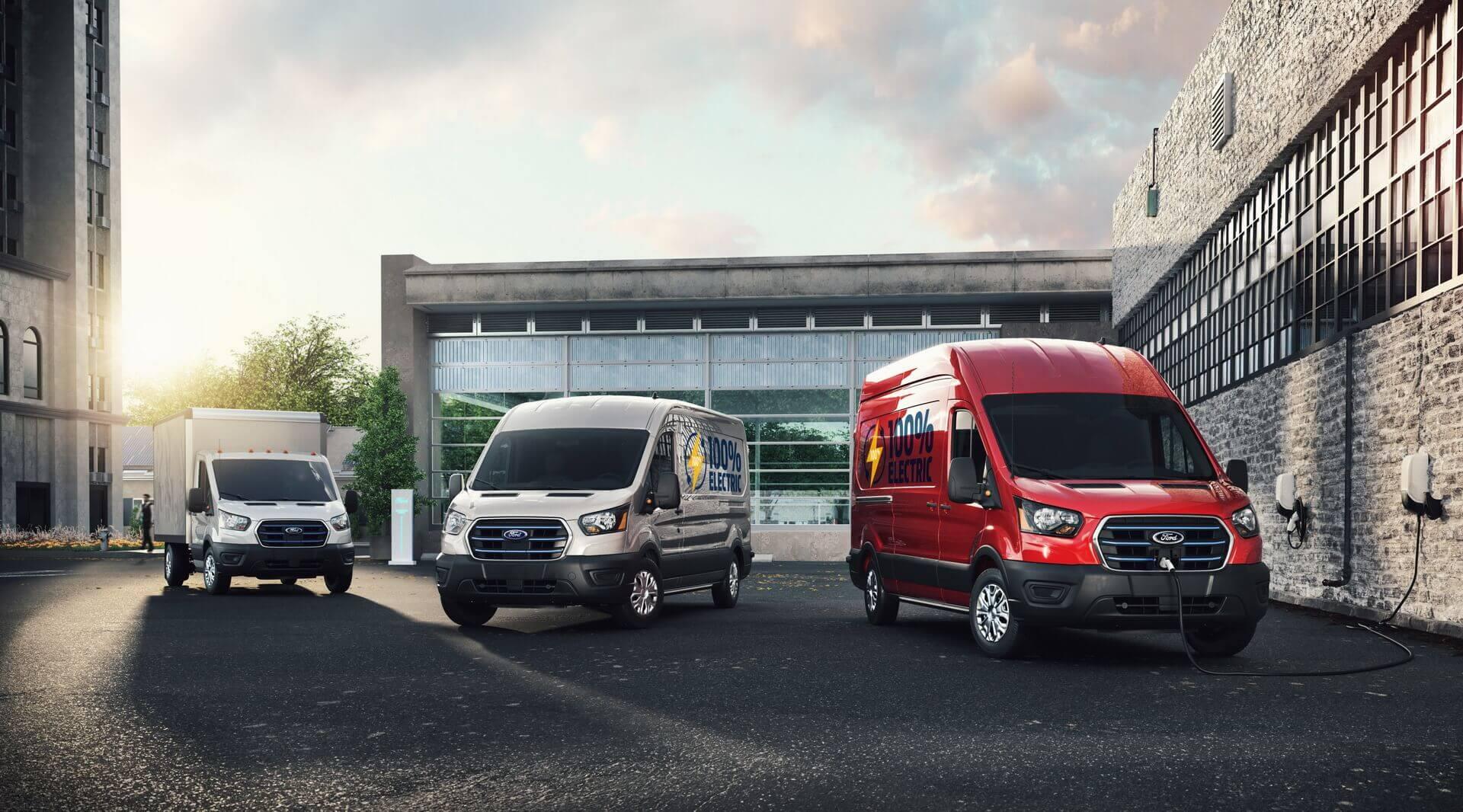 Ford E-Transit: несколько вариантов кузова и запас хода до 203 км (EPA)