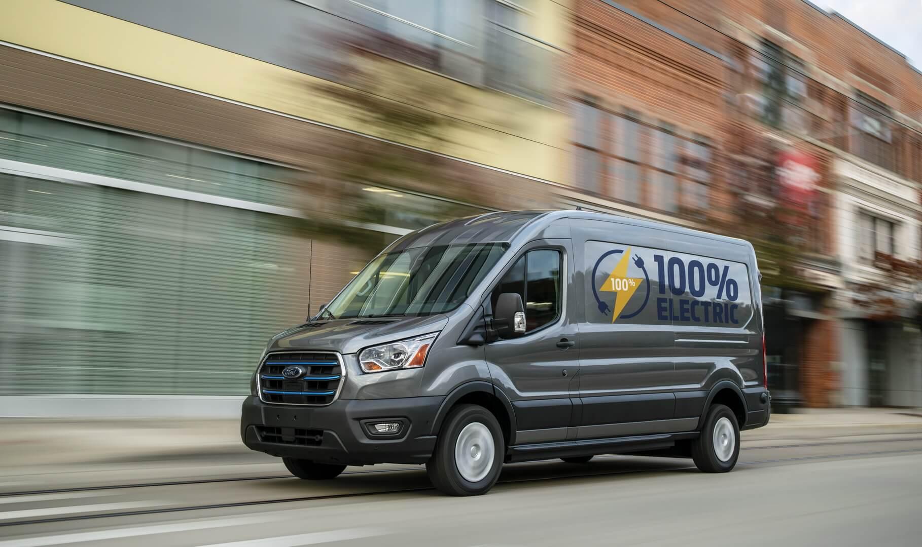 Ford E-Transit: электрическое воплощение коммерческой легенды