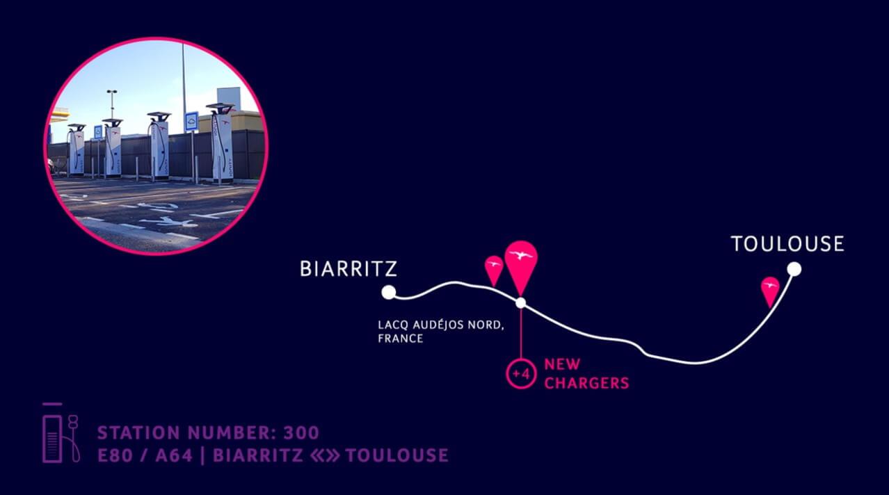 300-я станция IONITY была установлена во Франции