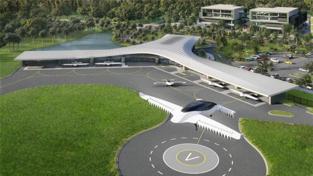«Вертипорт» стоимостью $25 млн на озере Нона, недалеко от которого живет около 65 000 человек в пределах города Орландо