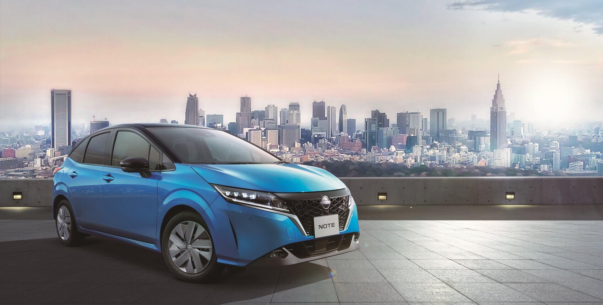 ВЯпонии представлен новый Nissan Note 2021 года сэлектрифицированным силовым агрегатом
