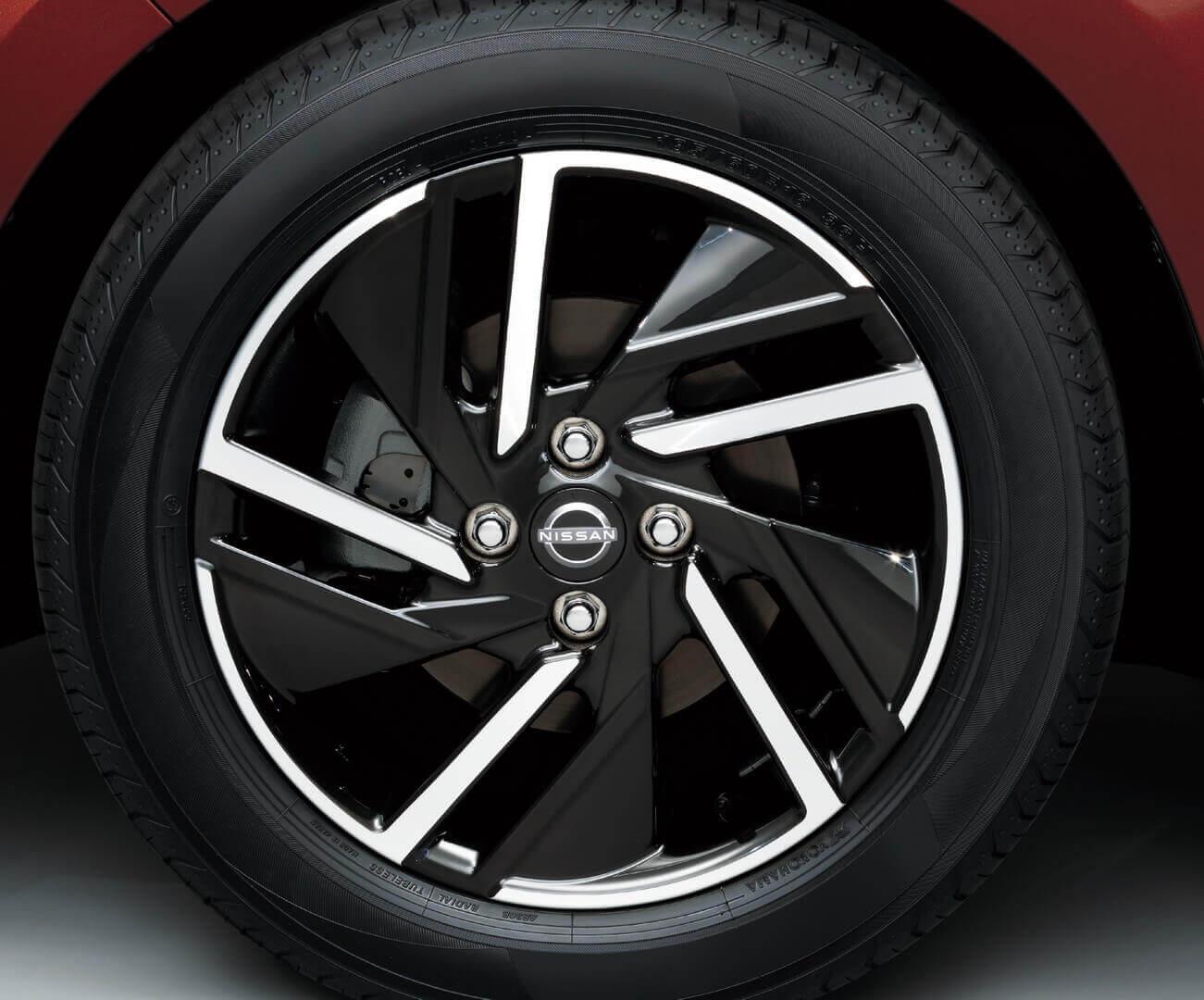 16-дюймовые алюминиевые диски Nissan Note e-POWER