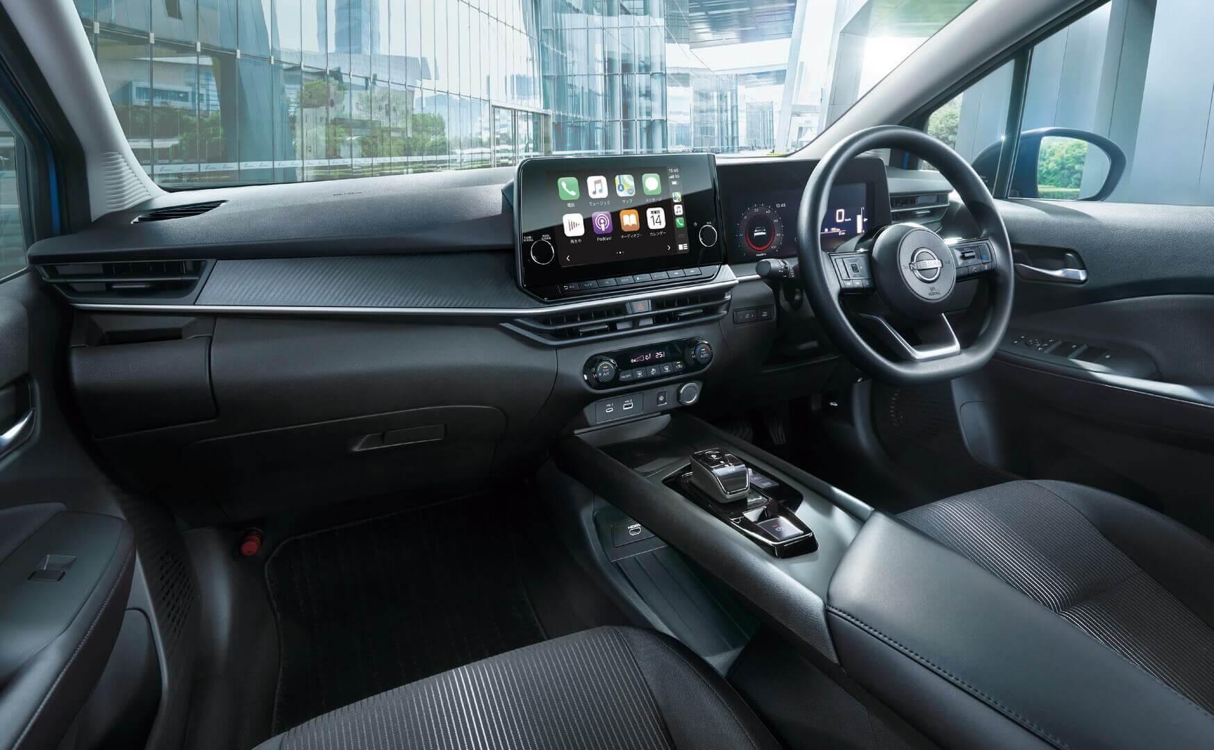 Интерьер Nissan Note e-POWER 2021