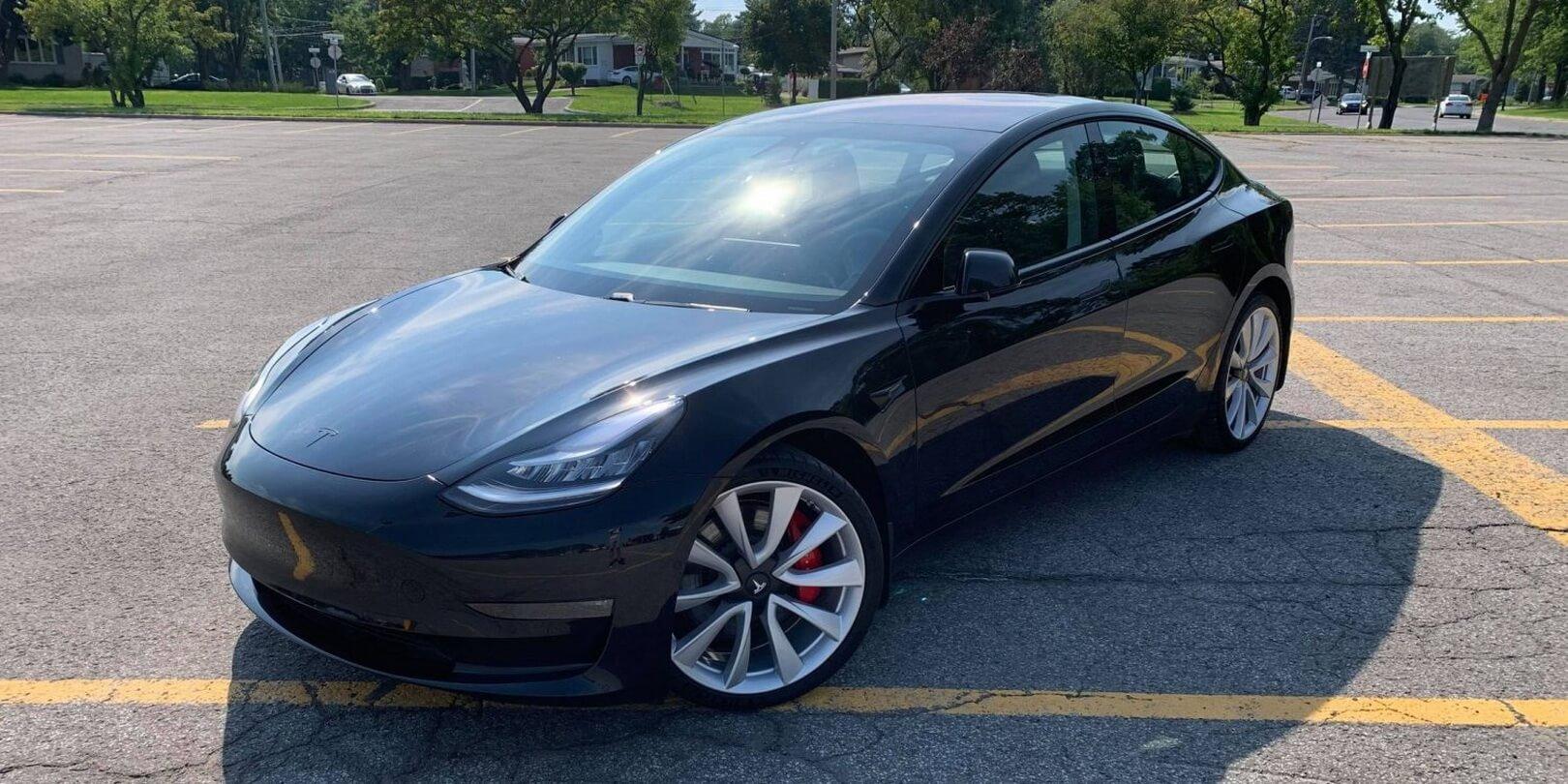 Обновленная Tesla Model 3 2021 модельного года