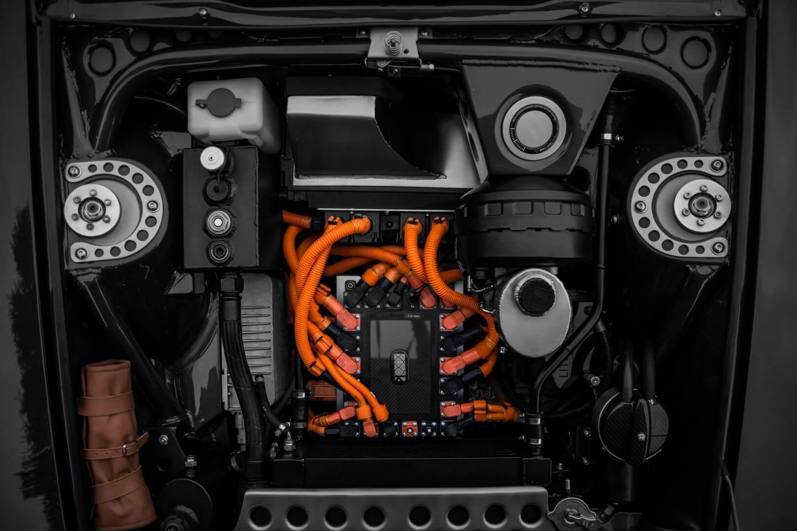 Электрический двигатель Alfa Romeo GT Electric