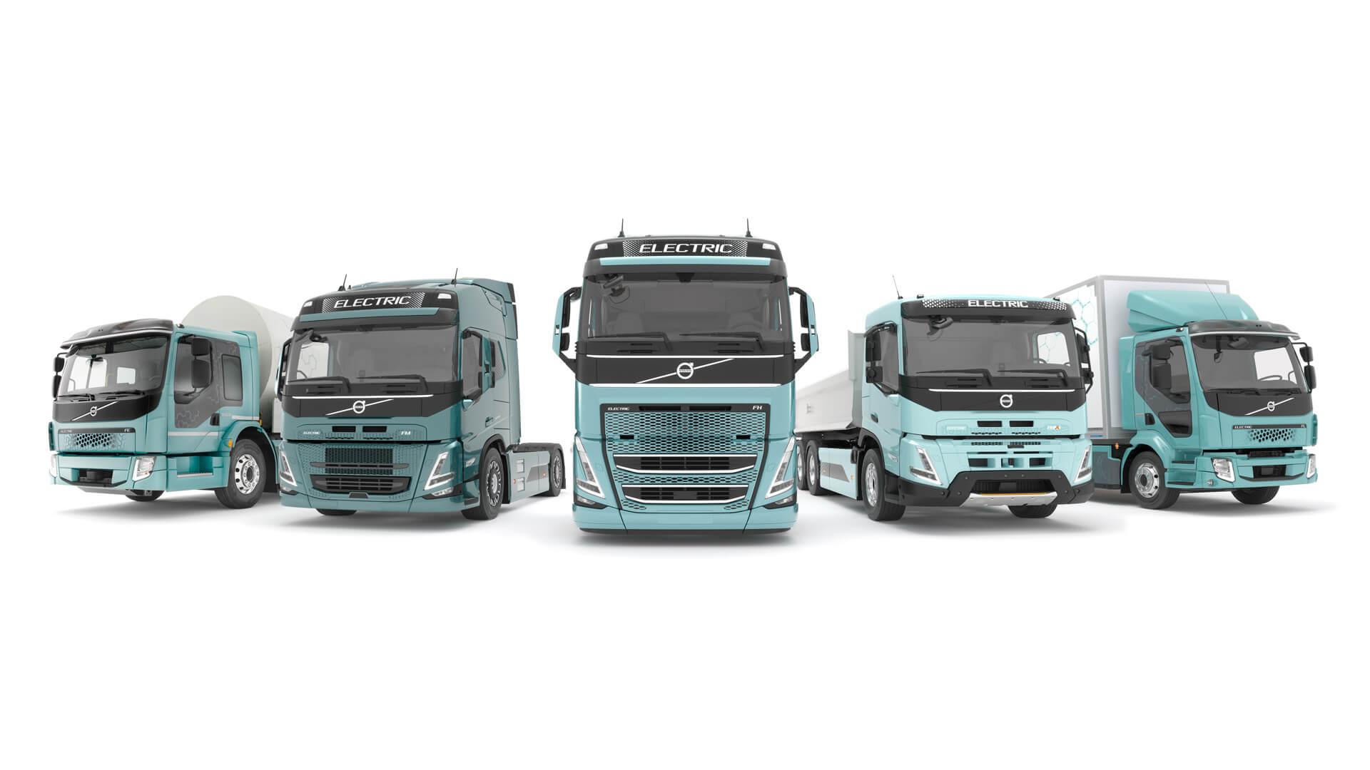 Volvo Trucks предложит полный спектр электрических грузовиков в Европе в 2021 году