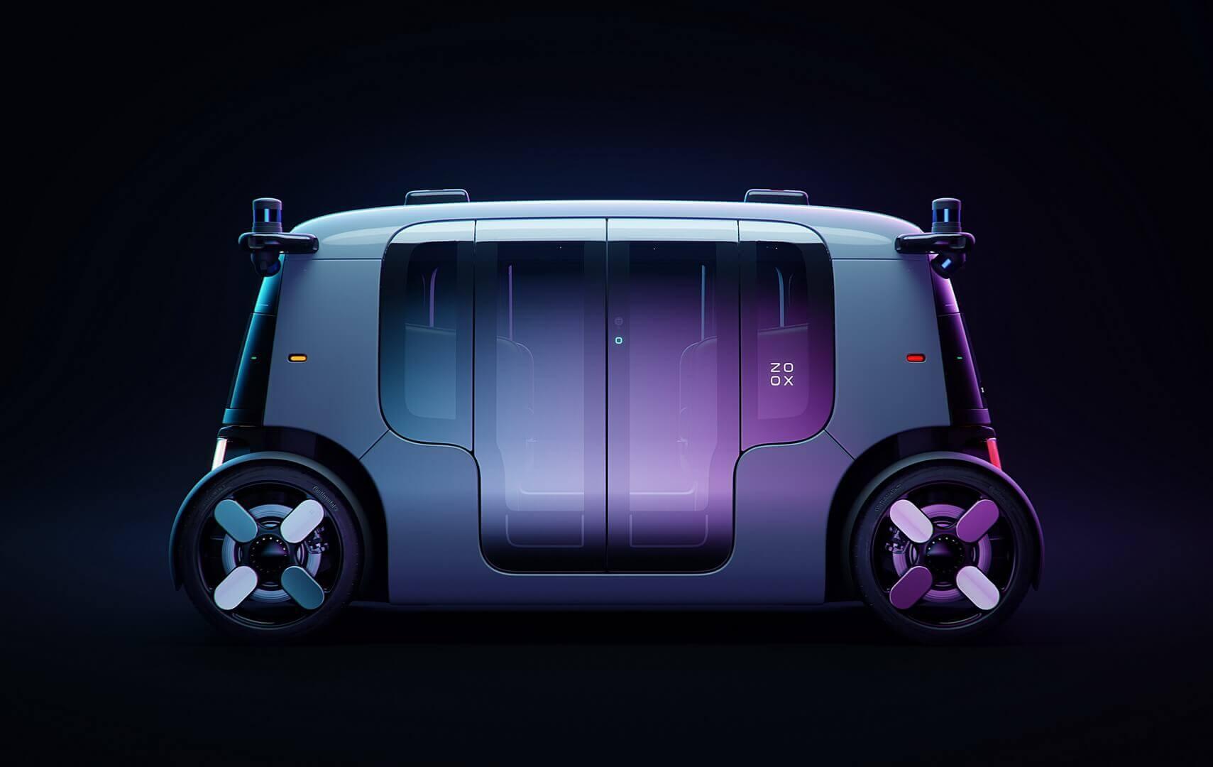 Zoox от Amazon представляет роботакси для будущего сервиса по вызову пассажиров