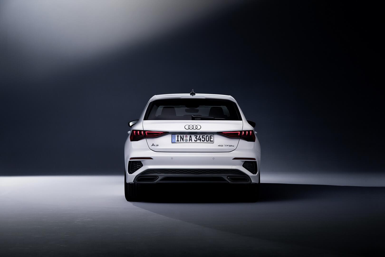 Audi представляет второй плагин-гибрид в линейке Audi A3 Sportback