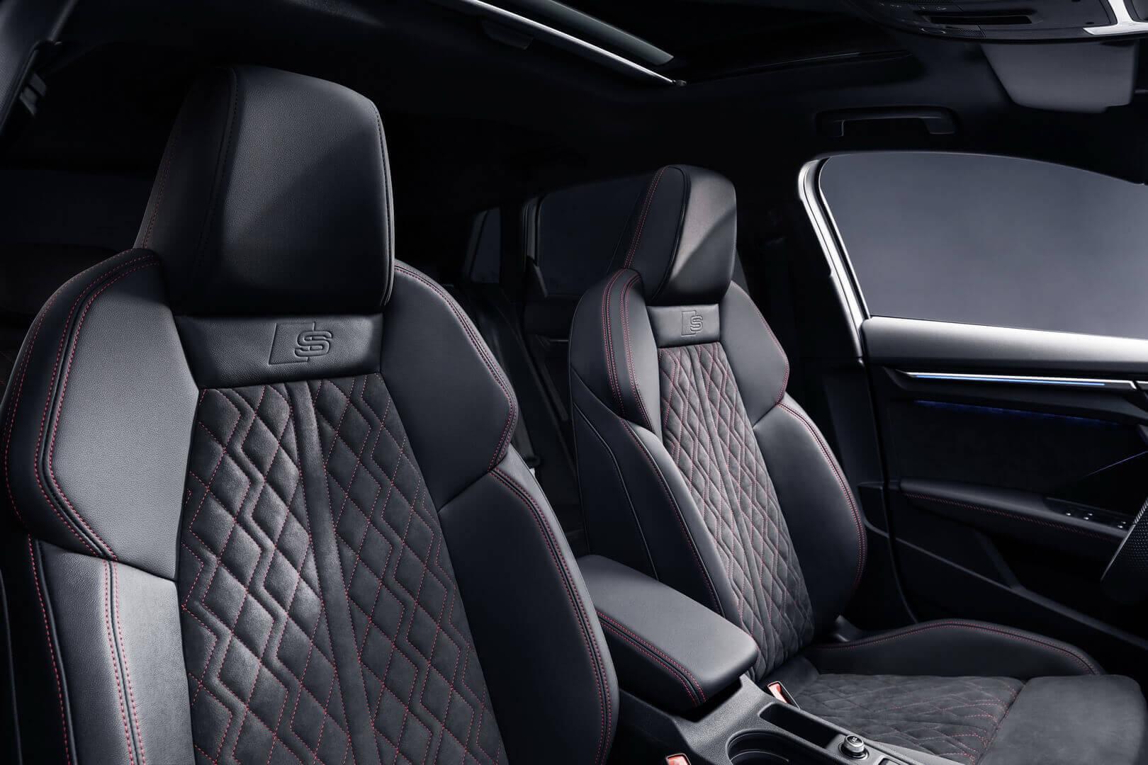 Салон плагин-гибрида Audi A3 Sportback 45 TFSI e