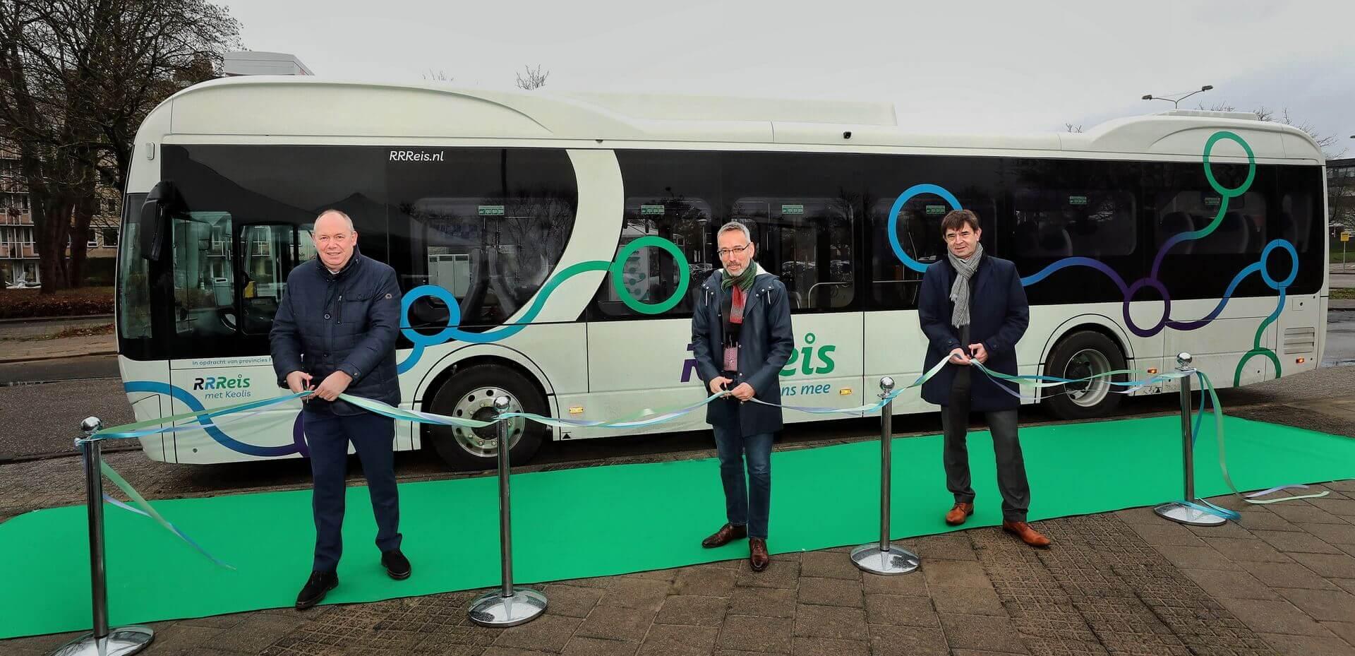 BYD поставил для Keolis в Нидерландах 246 электрических автобусов