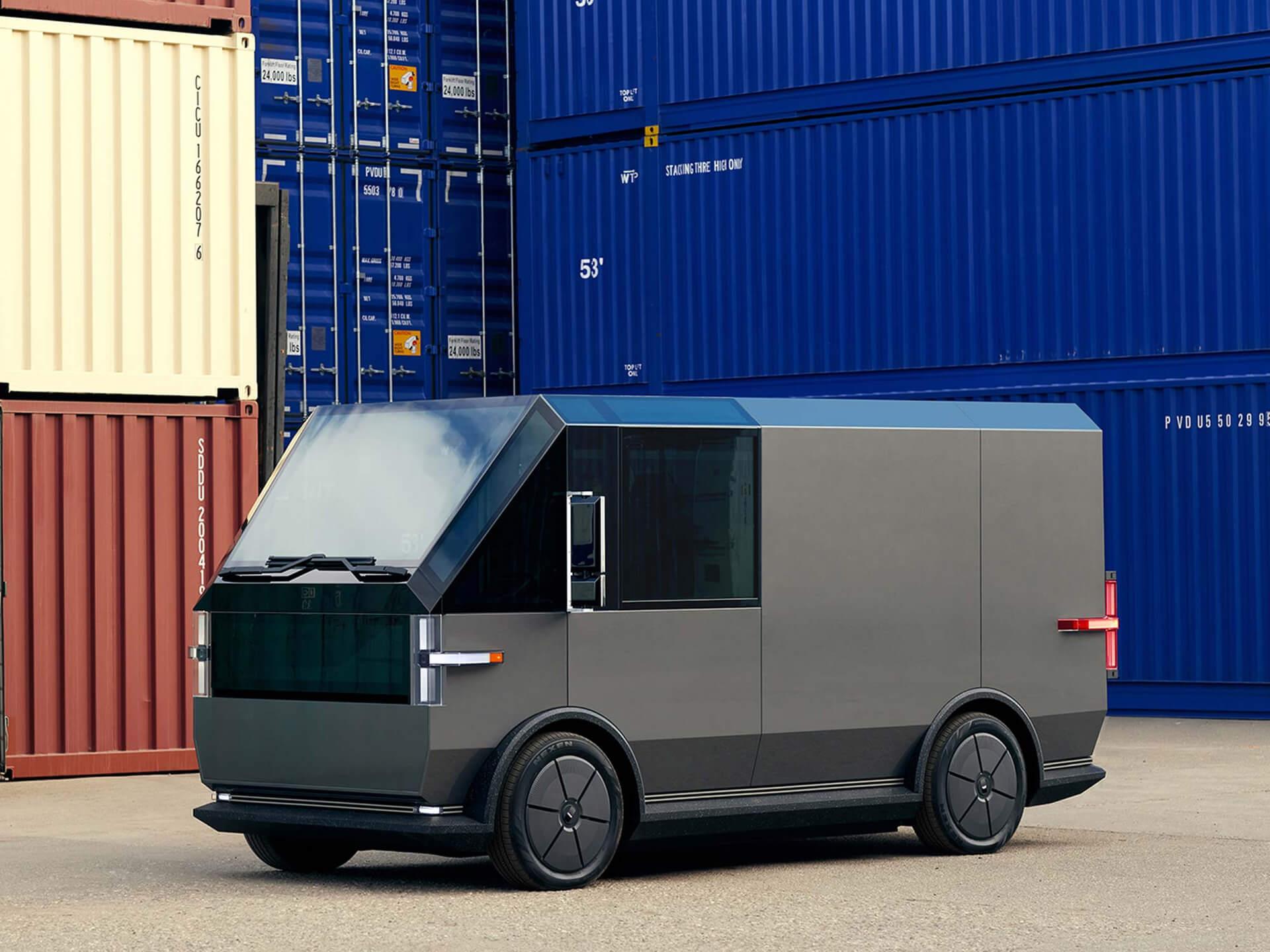 Canoo представляет полностью электрический грузовой фургон