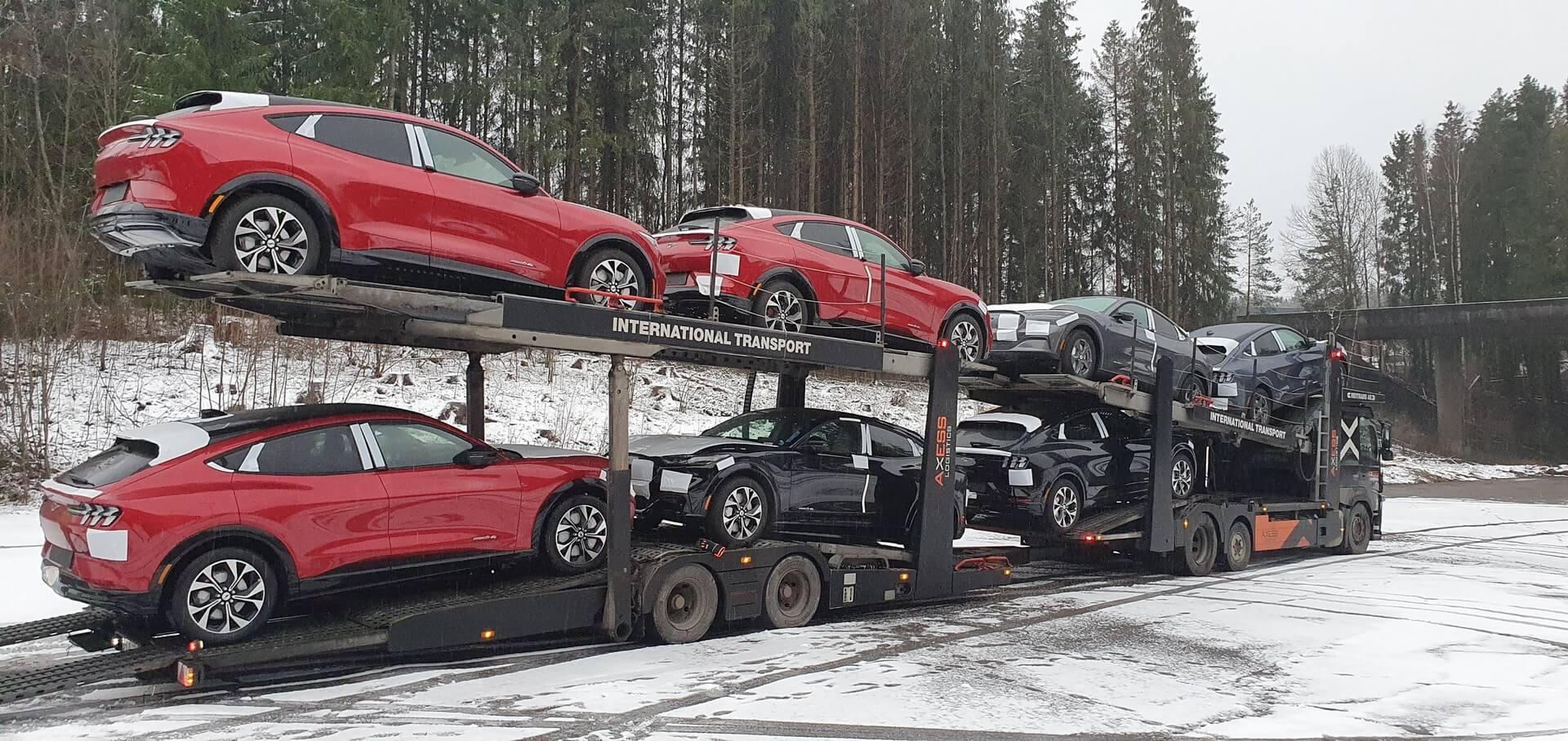 Первые Ford Mustang Mach-E прибыли вНорвегию