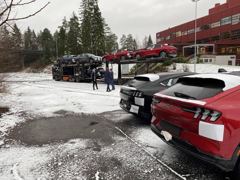 Первая партия Ford Mustang Mach-E прибыла вНорвегию