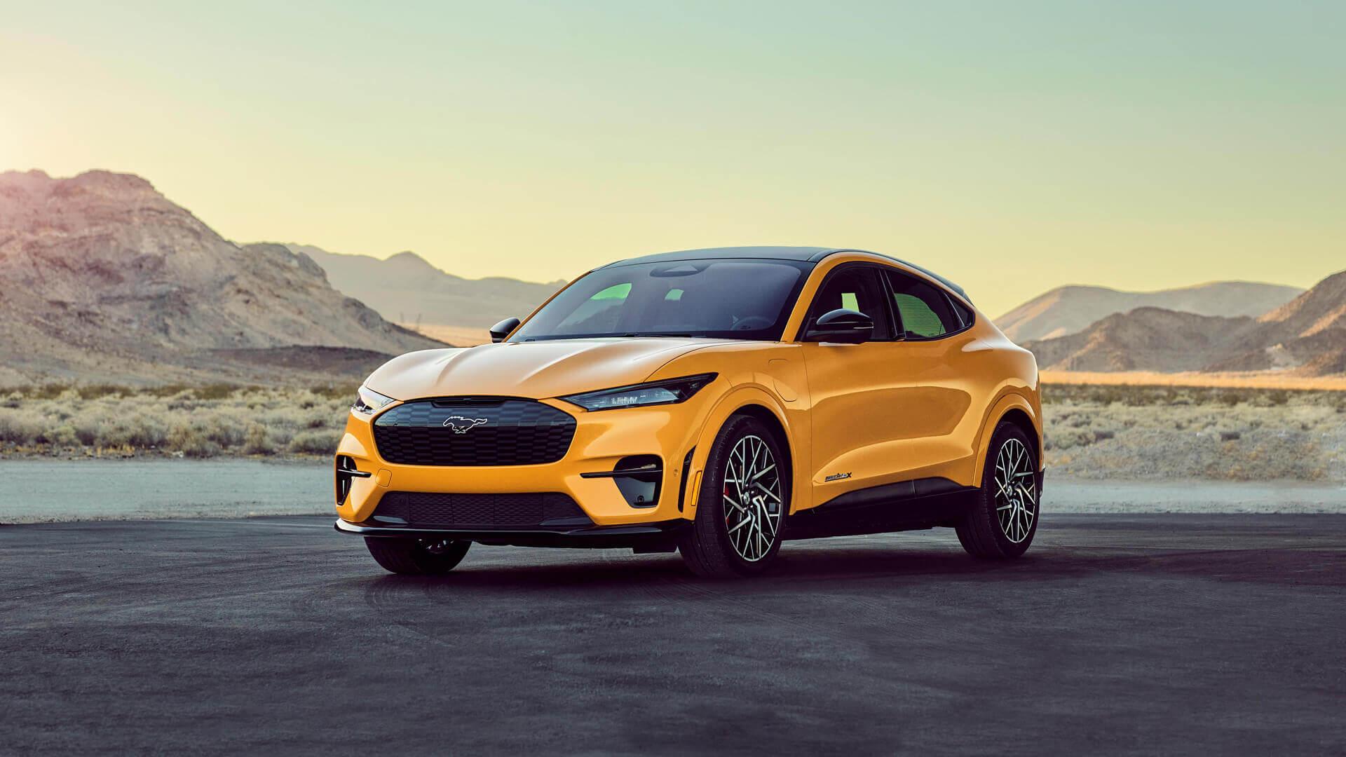 Ford представил «заряженный» Mustang Mach-E