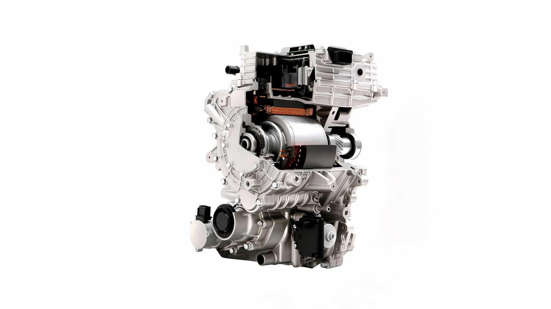 Передний тяговый двигатель платформы E-GMP