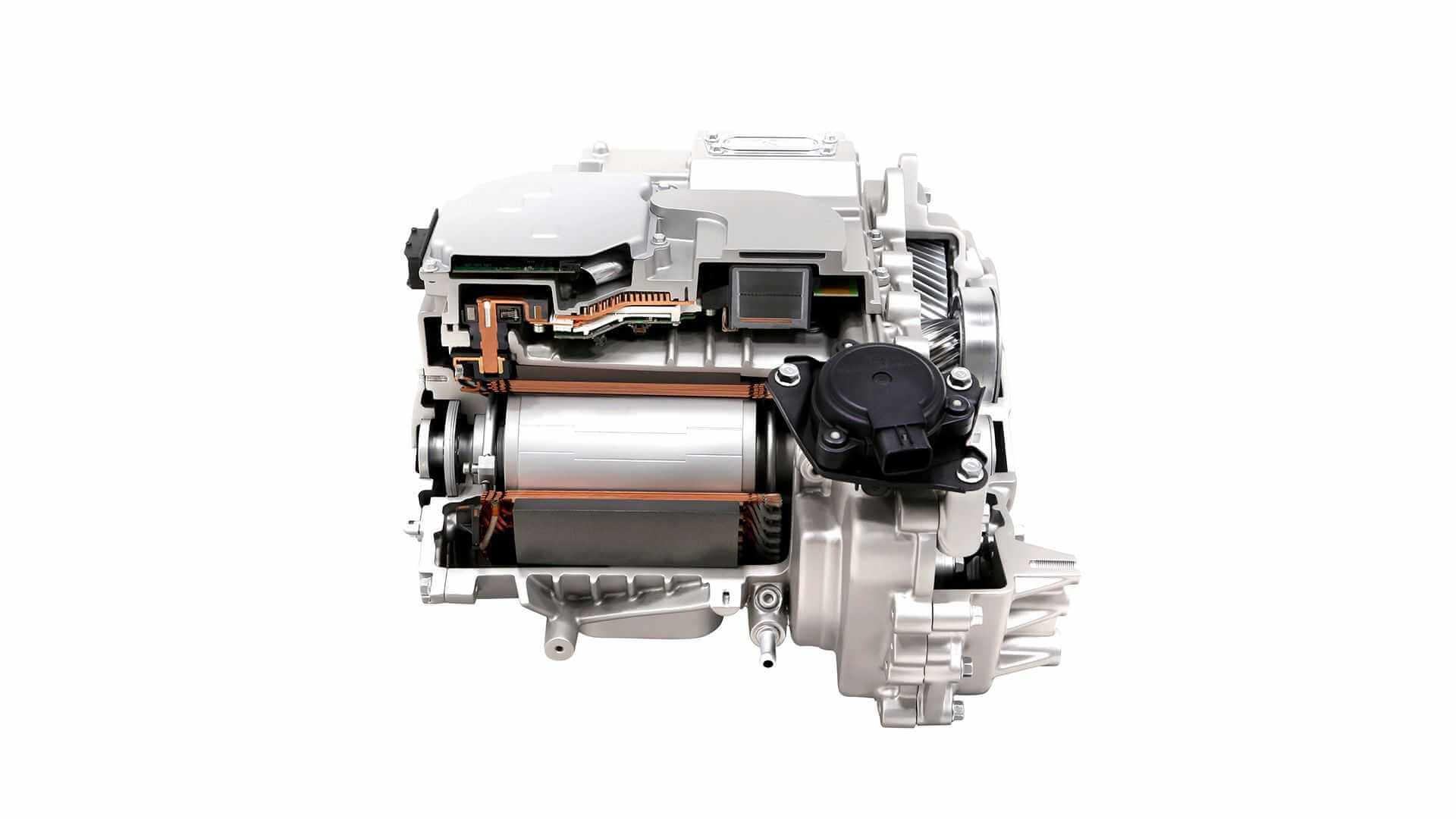 Задний тяговый двигатель платформы E-GMP