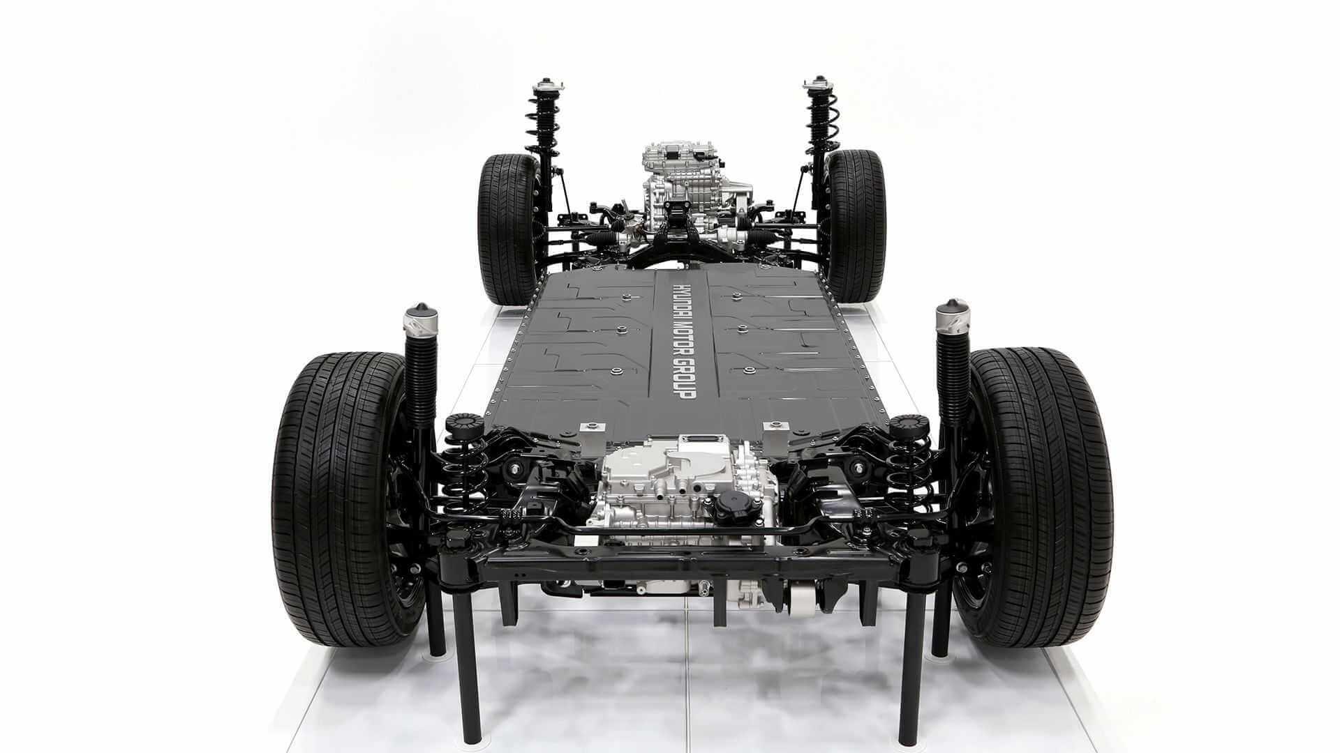 Высокопроизводительная платформа для электромобилей Hyundai E-GMP