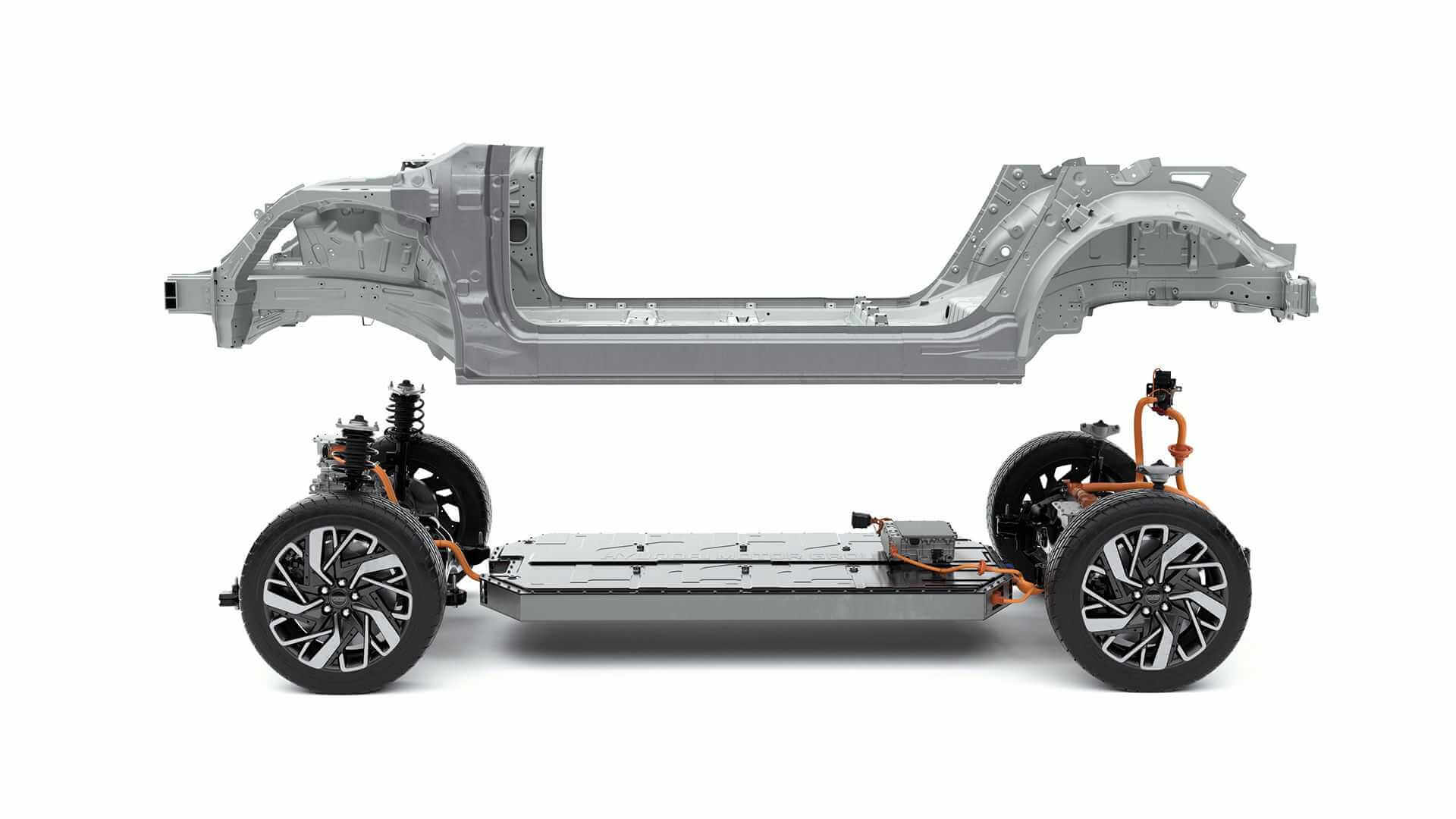 Платформа E-GMP обеспечивает повышенную безопасность изащиту батареи