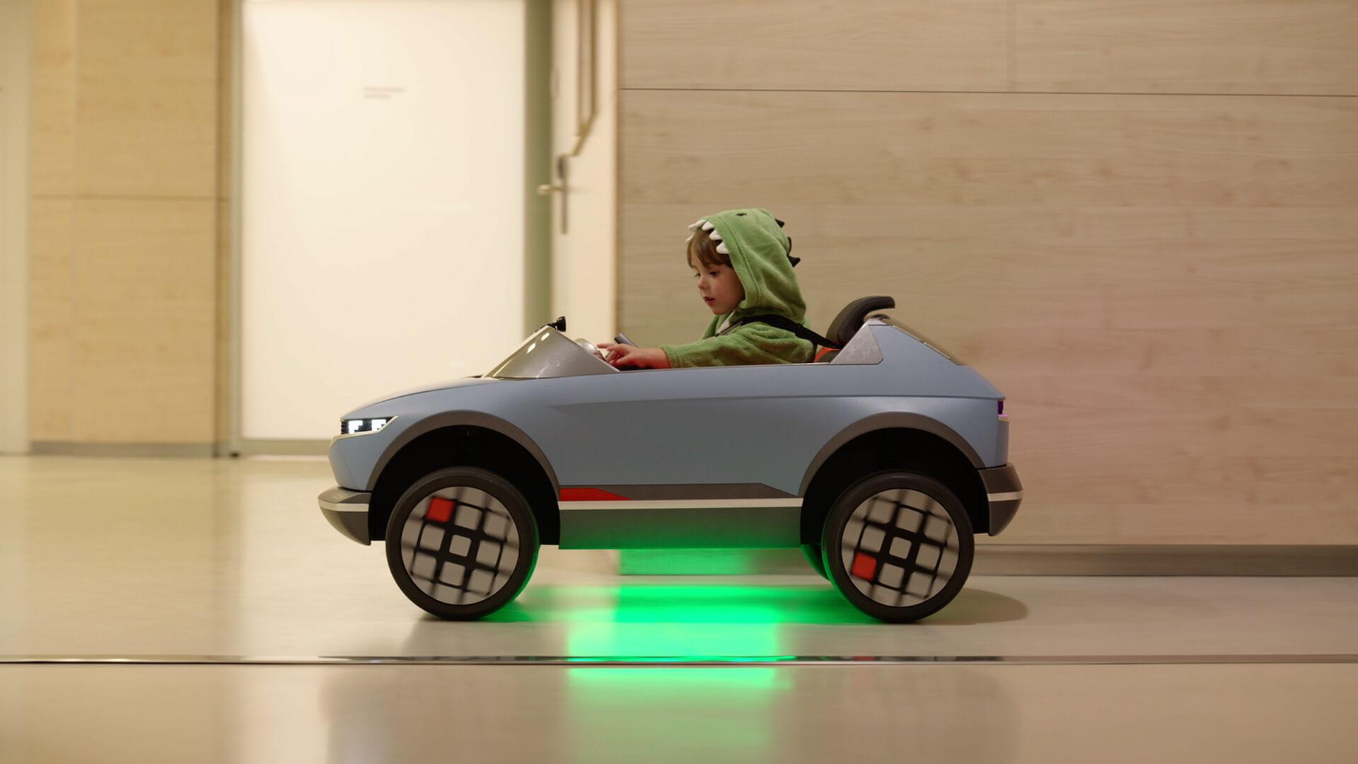Hyundai Mini «45» - детский электромобиль на базе искусственного интеллекта
