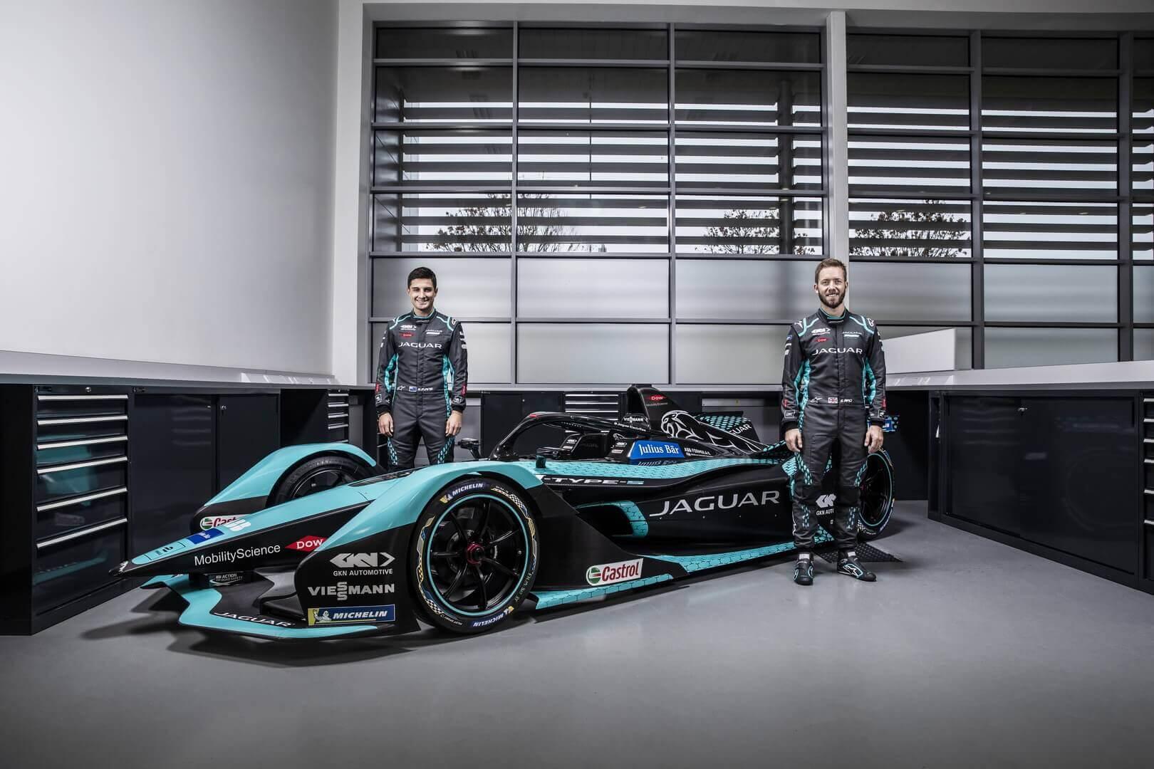 Сэм Бёрд и Митч Эванс будут управлять новым гоночным автомобилем Jaguar Racing