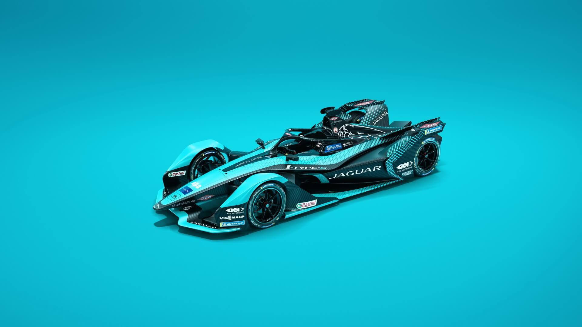 Jaguar Racing представила I-TYPE 5для чемпионата мира погонкам наэлектромобилях Formula E 2021