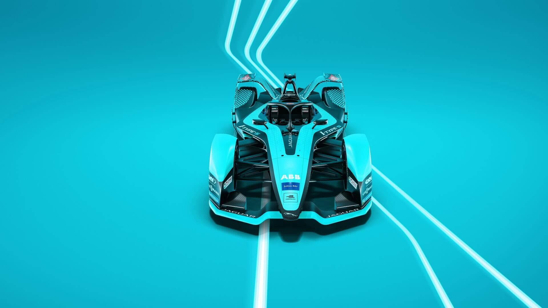 Jaguar Racing представила новый гоночный болид I-TYPE 5для Formula E 2021