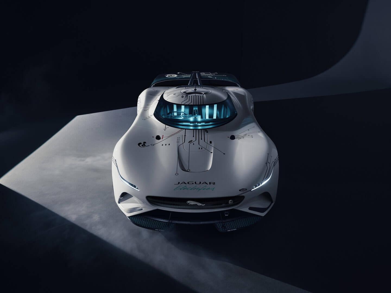 Виртуальный гоночный автомобиль Jaguar Vision Gran Turismo SV