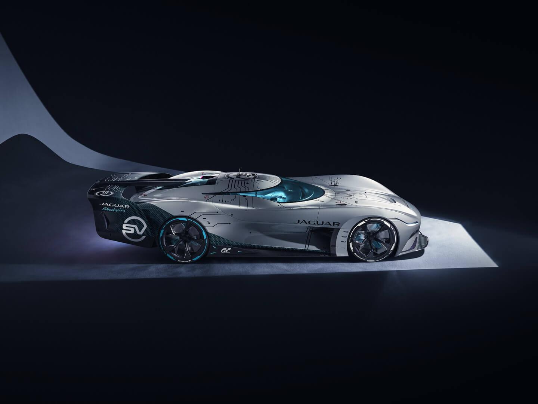 Vision Gran Turismo SV: полностью электрический виртуальный гоночный автомобиль для гонок на выносливость