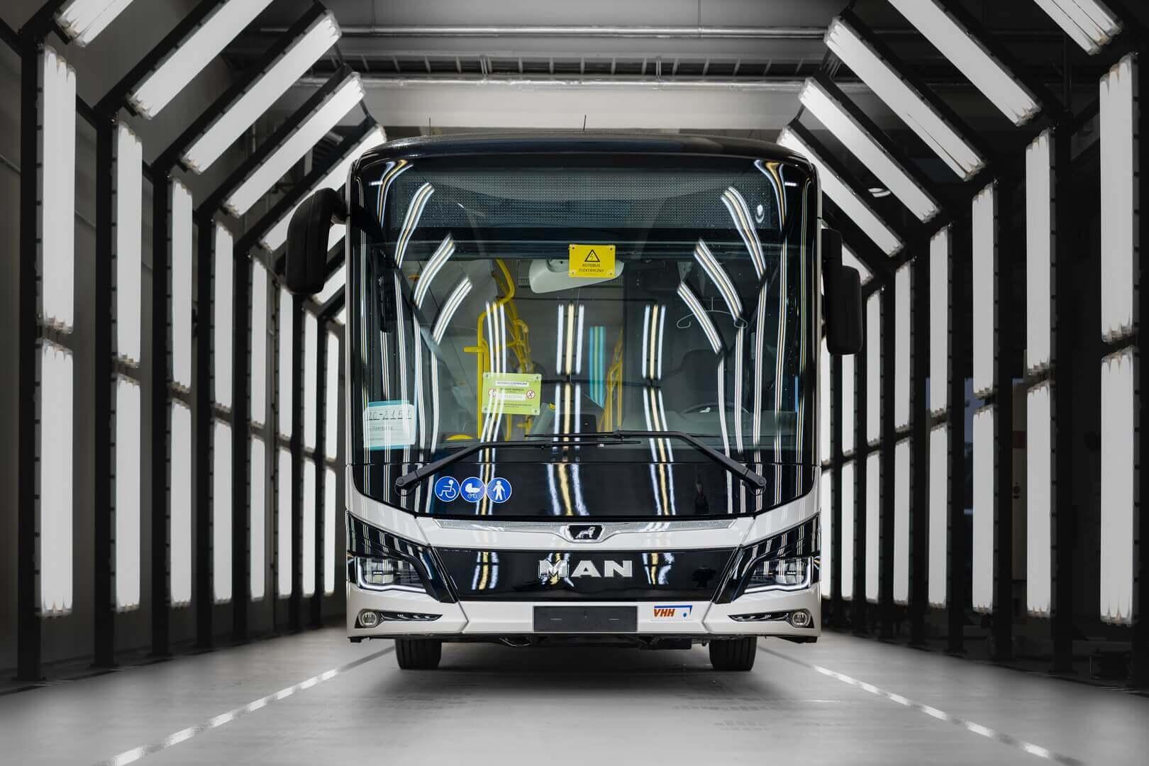 MAN Truck &Bus начинает производство электробусов Lion's City E в Польше
