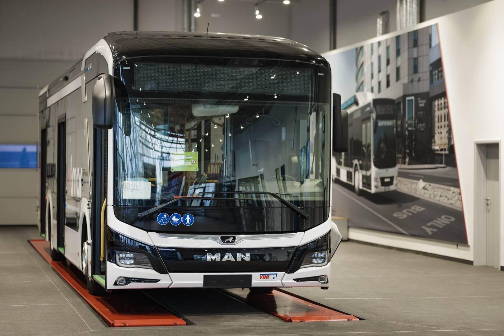 12-метровая сольная версия электрического автобуса MAN Lion's City E