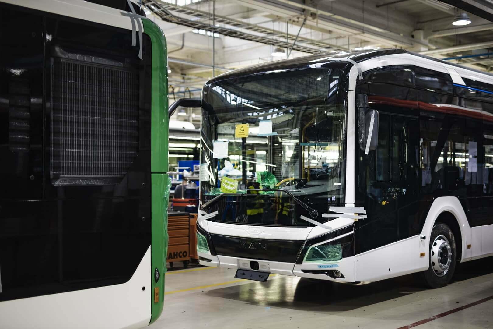 MAN Truck & Bus начинает производство электробусов Lion's City E в Польше