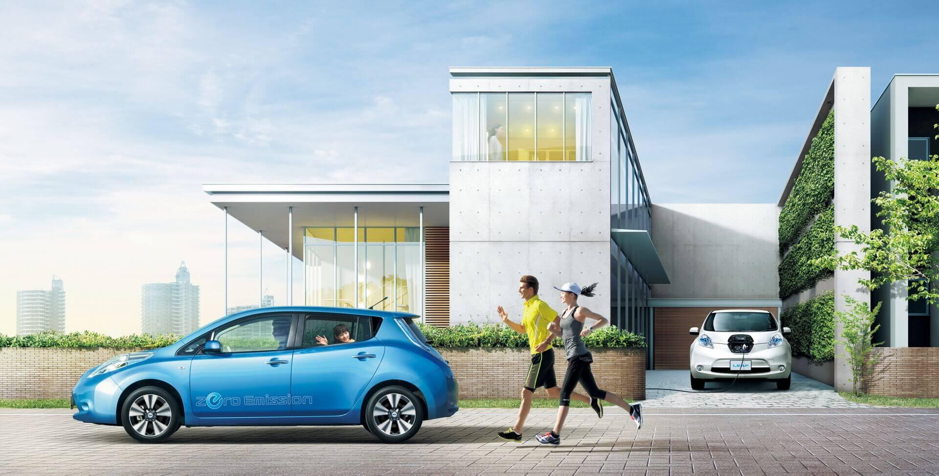 Более 500 000 клиентов перешли на электромобили Nissan LEAF, что помогло электрифицировать мир