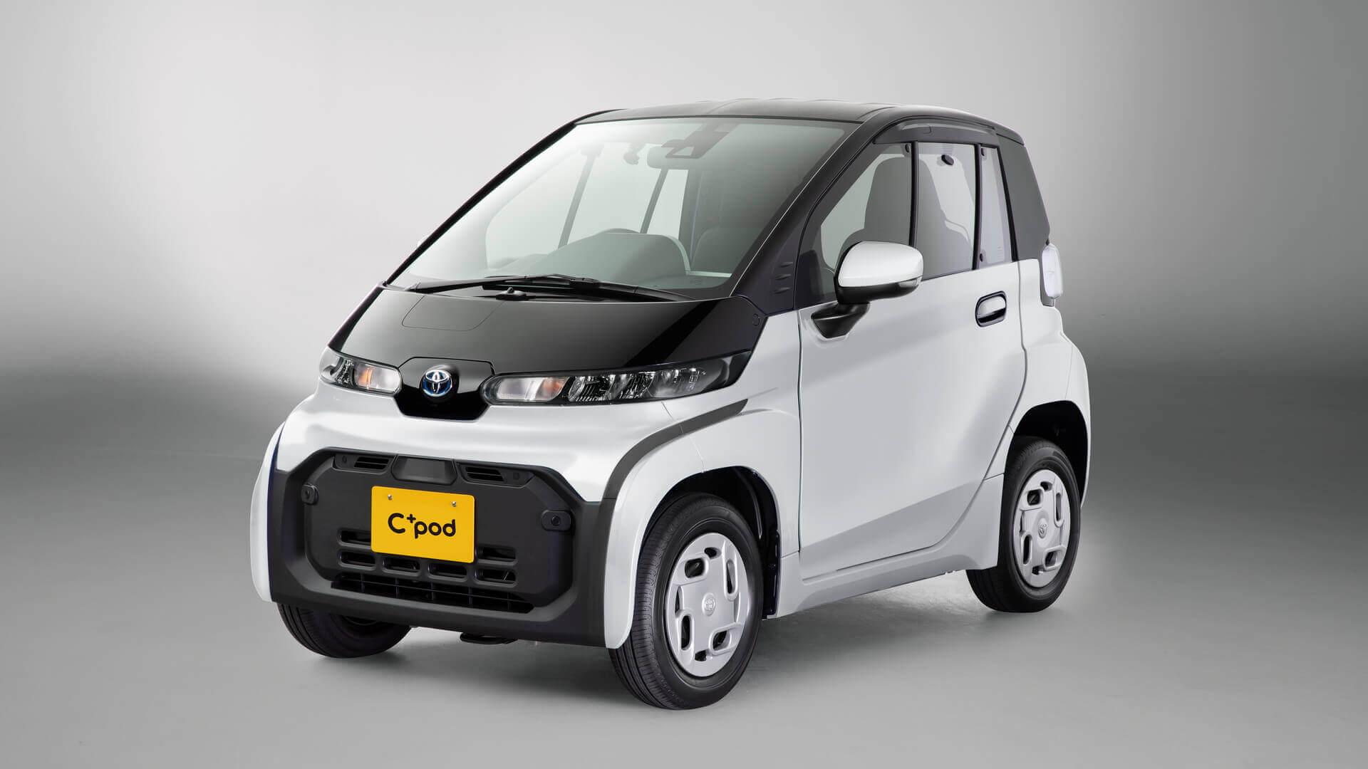 Toyota запускает в Японии сверхкомпактный электромобиль «C+pod»