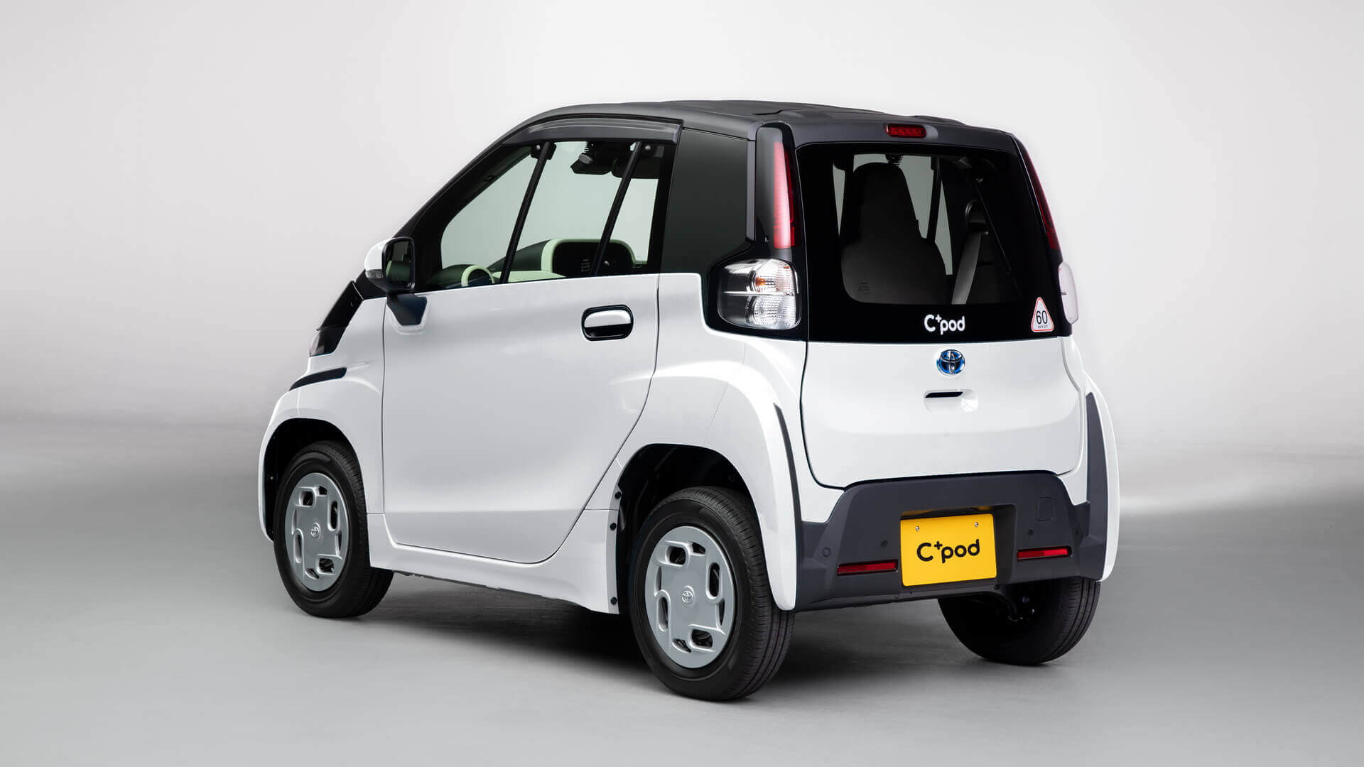Двухместный электромобиль Toyota для японского рынка