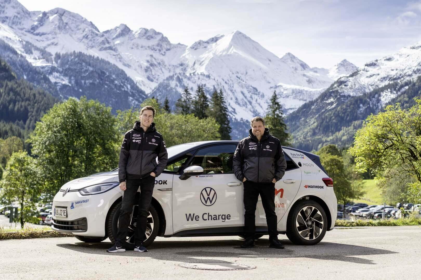 Volkswagen ID.3 преодолел рекордные 28 198 км за 65 дней в Германии