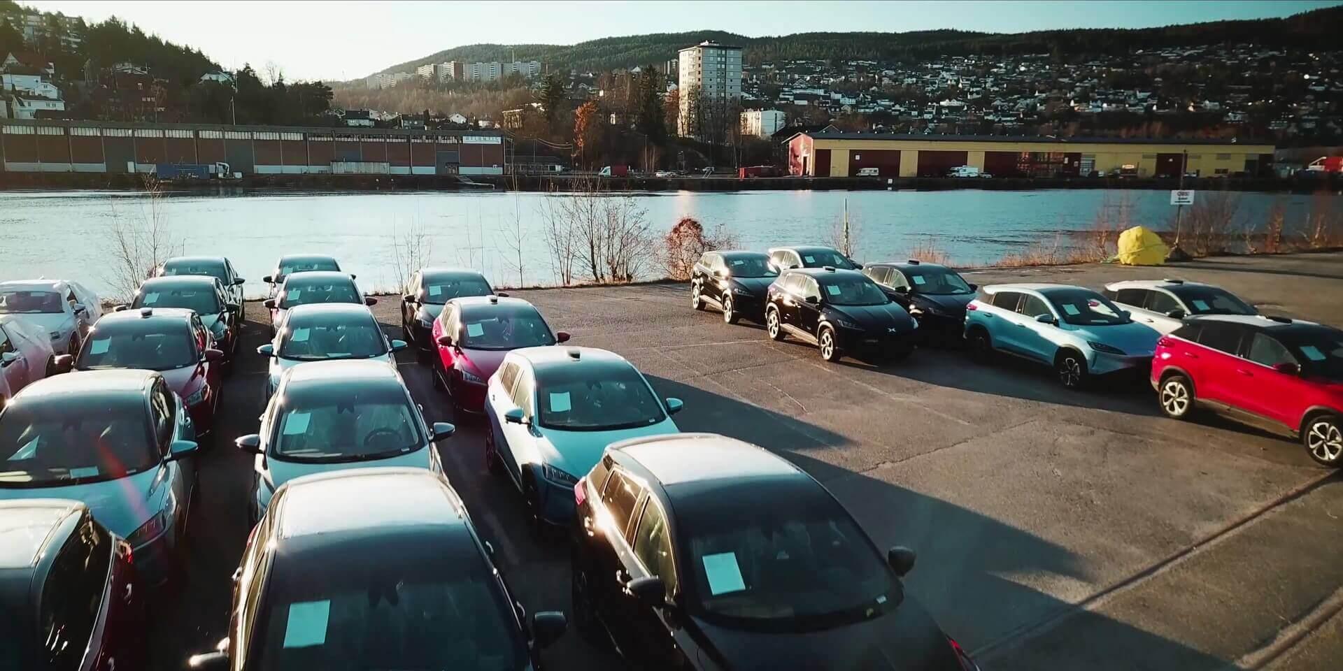 Первая партия китайских электромобилей Xpeng G3прибыла вНорвегию