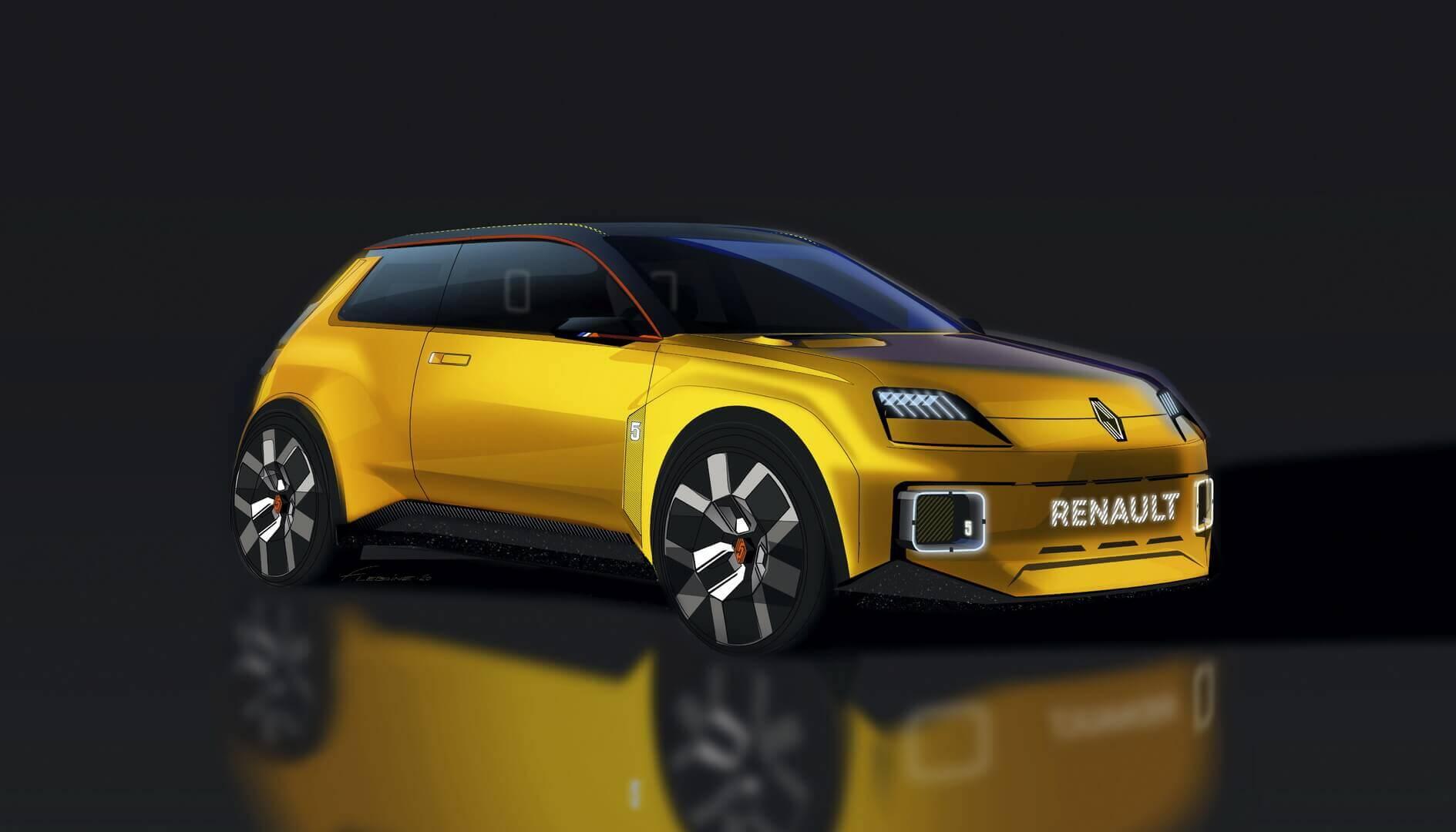 Концепт электрического городского автомобиля Renault 5