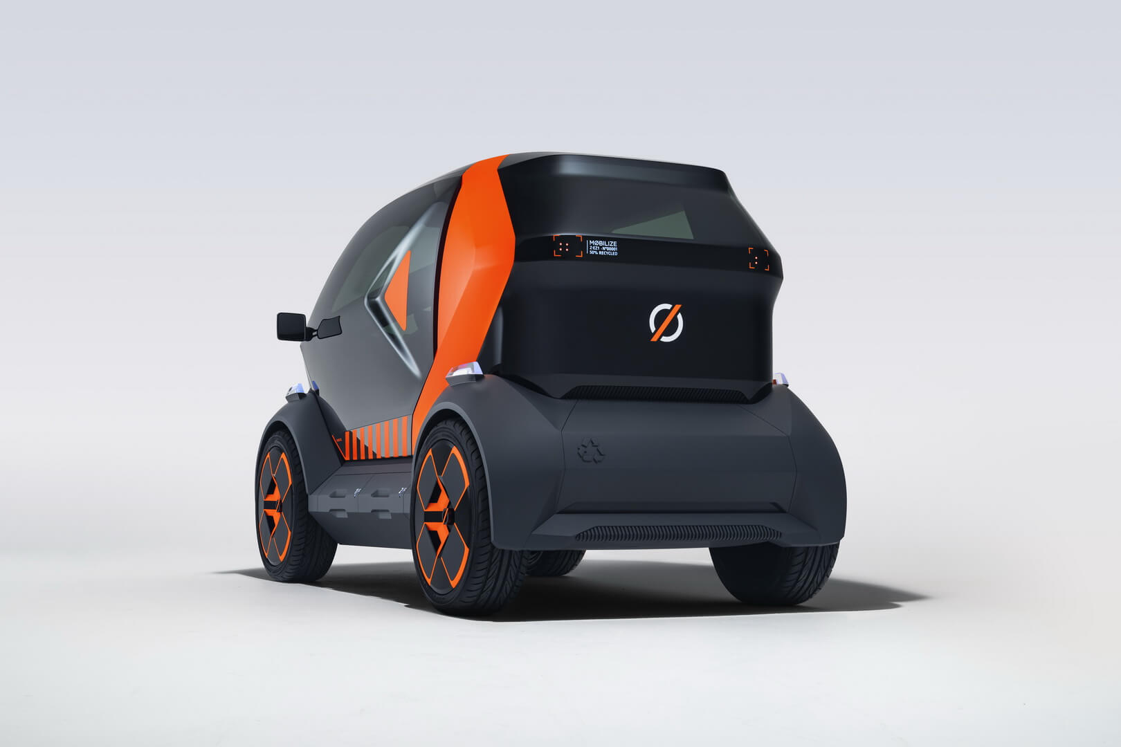 Прототип мини-электромобиля Mobilize EZ-1