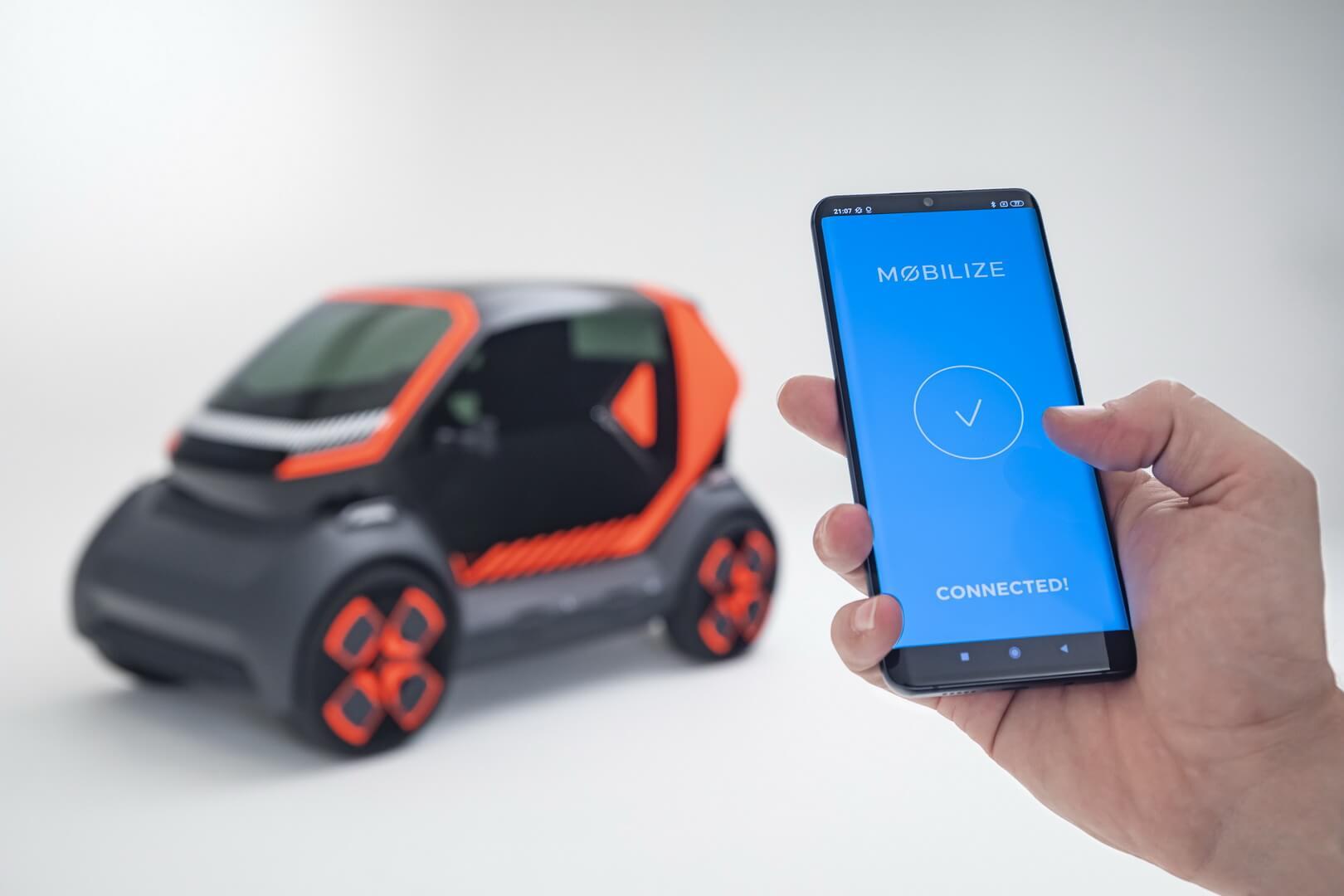 Renault запускает новый бренд Mobilize с двухместным электромобилем EZ-1 для каршеринга