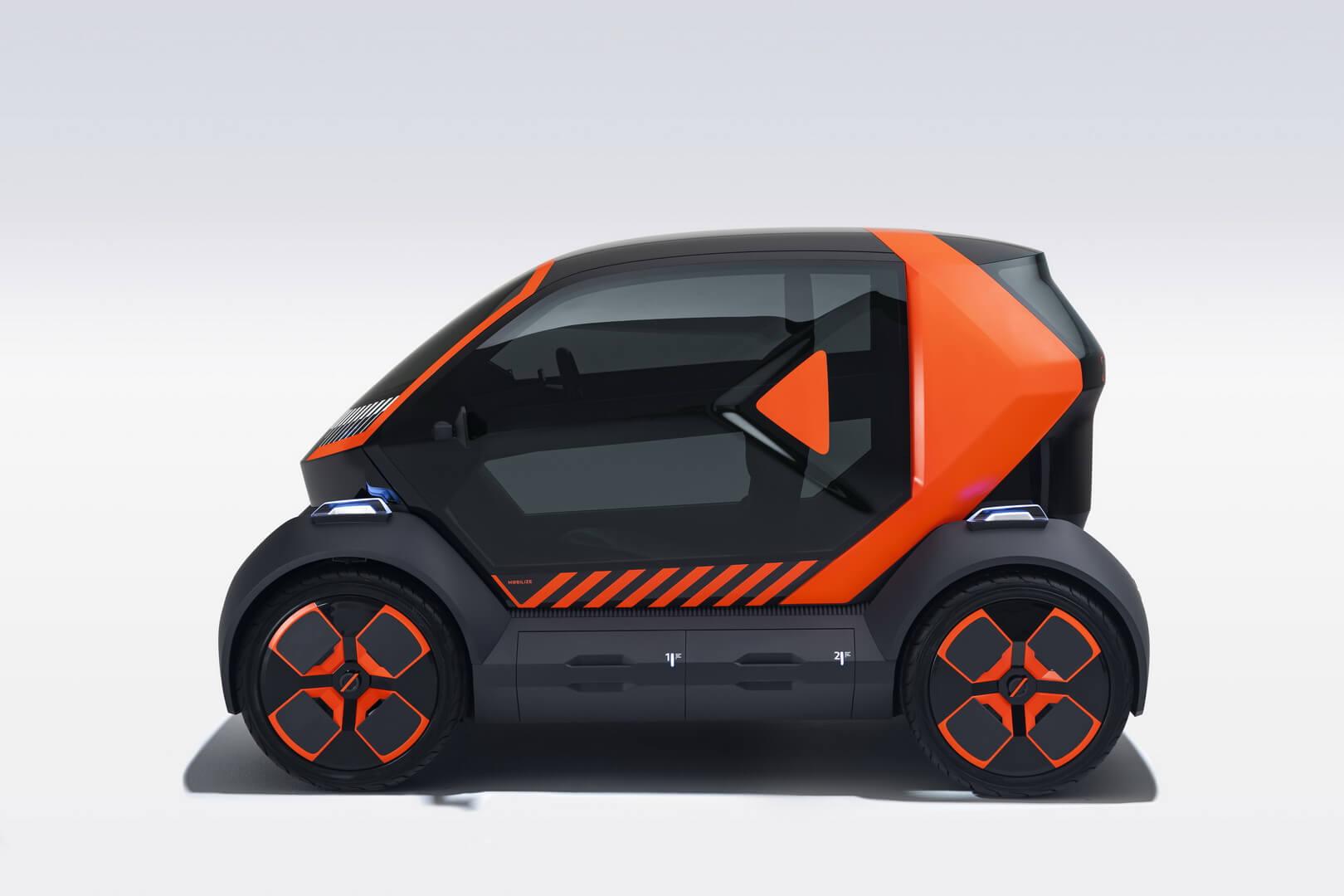 Mobilize EZ-1: Renault представила электромобиль для каршеринга