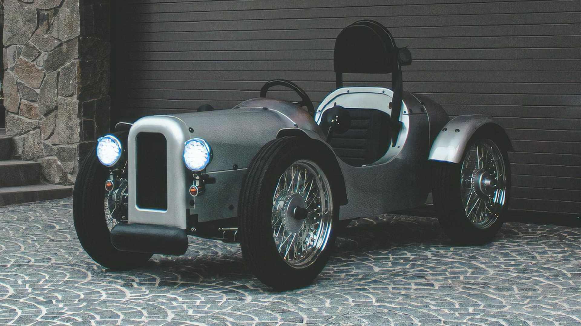 Blaze EV Classic — одноместный электромобиль в ретро стиле