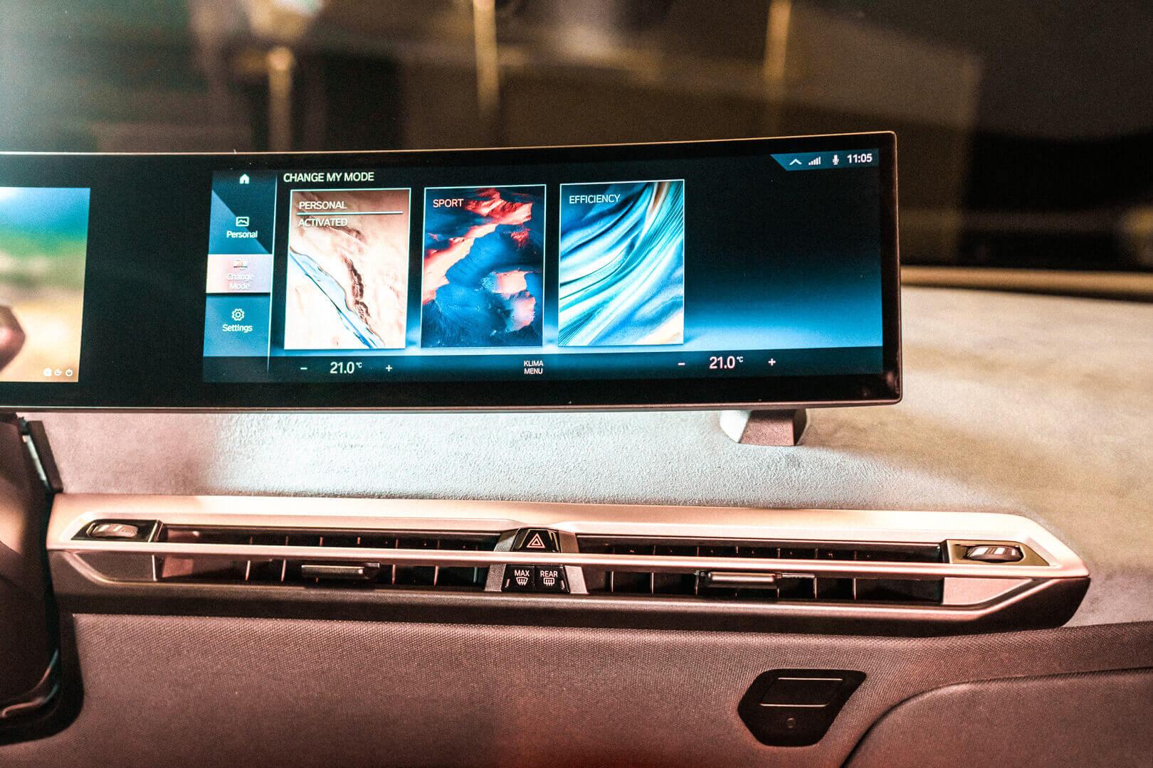 Следующее поколение системы iDrive дебютирует на BMW iX