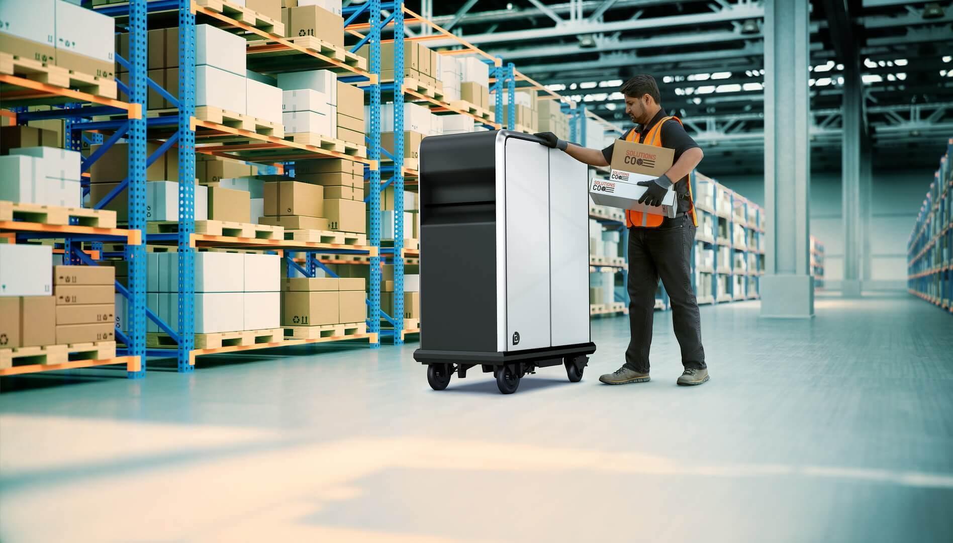 Электрический поддон BrightDrop EP1 для легкого перемещения товаров на короткие расстояния