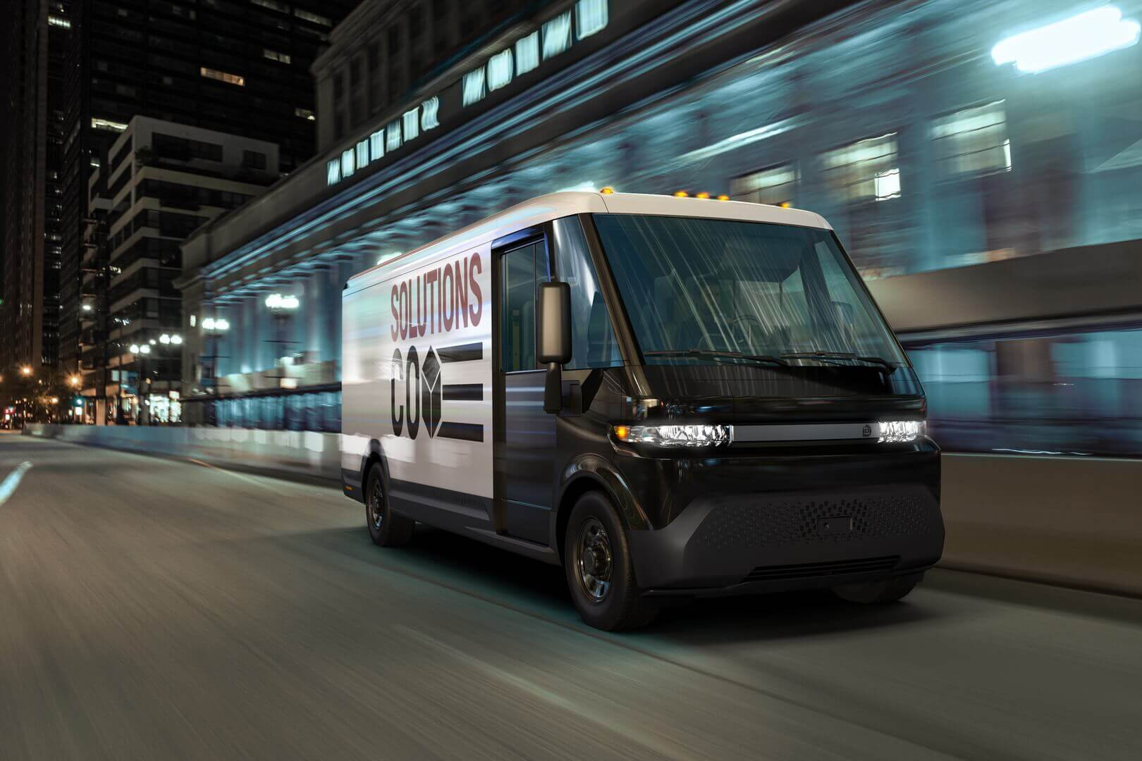 Электрический коммерческий фургон BrightDrop EV600