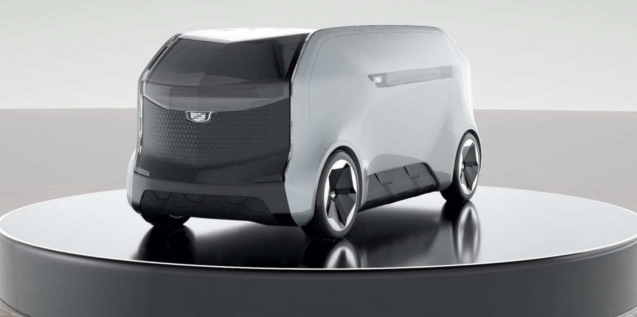 Электрический автономный шаттл Cadillac