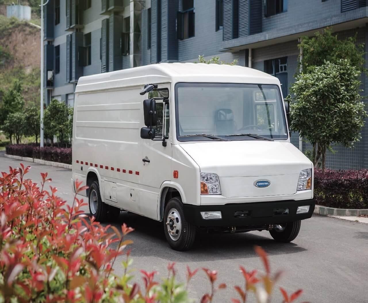 Cenntro представляет электрический фургон CityPorter для доставки последней мили