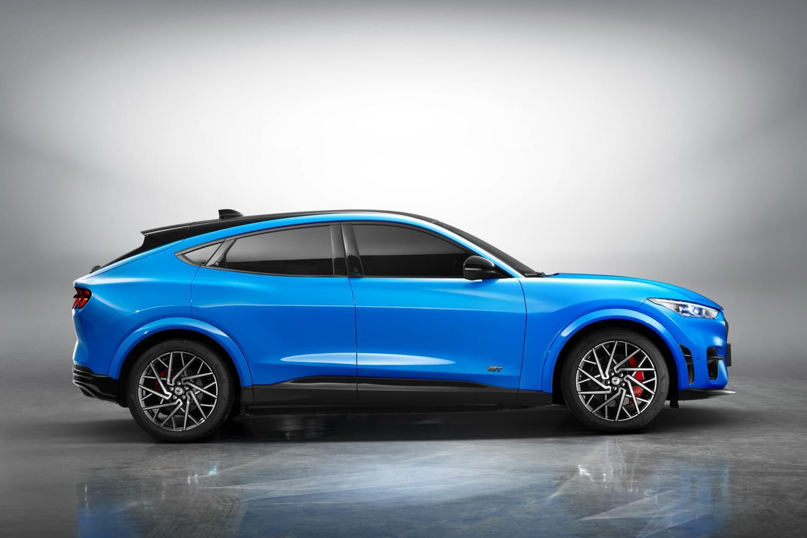 Электрический кроссовер Ford Mustang Mach-E будет производиться в Китае