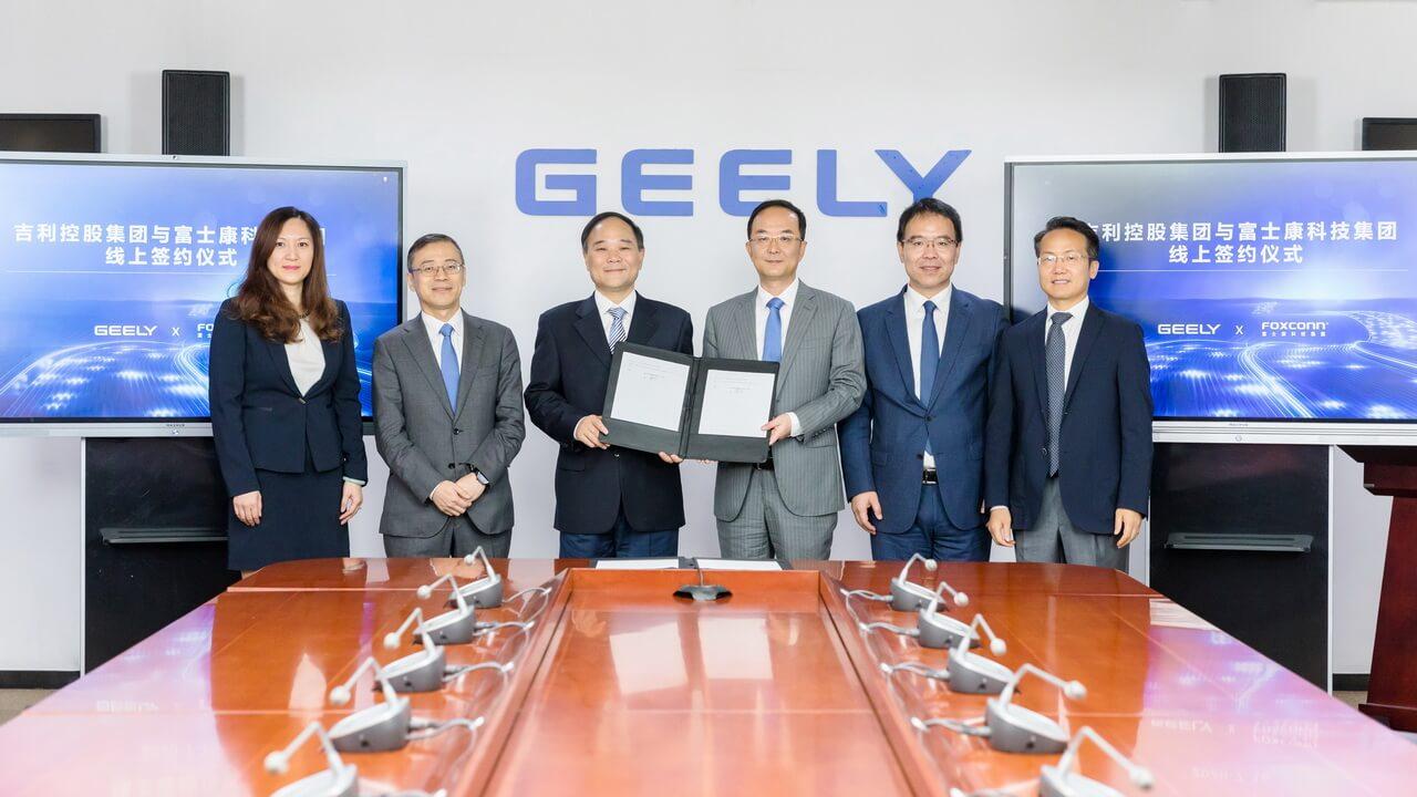 Foxconn и Geely объединяются, чтобы заняться контрактным производством автомобилей